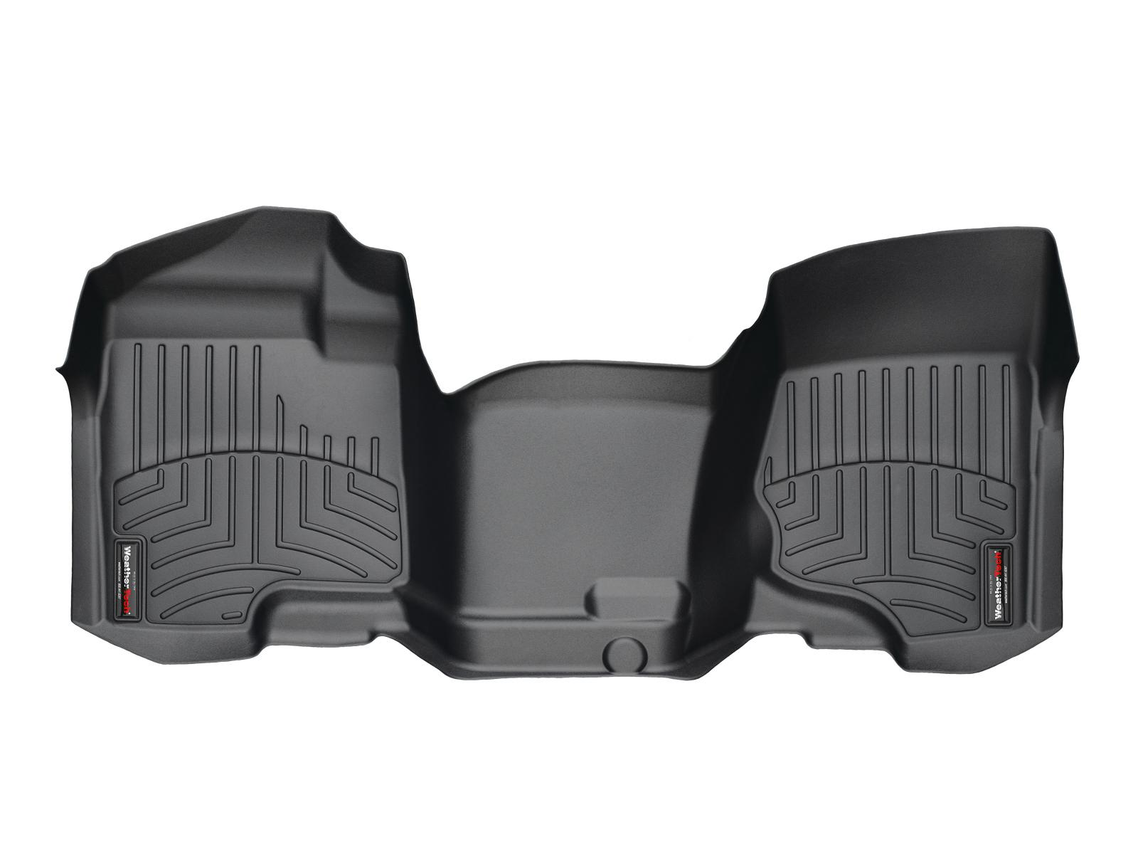 Tappeti gomma su misura bordo alto Chevrolet Silverado 08>13 Nero A180