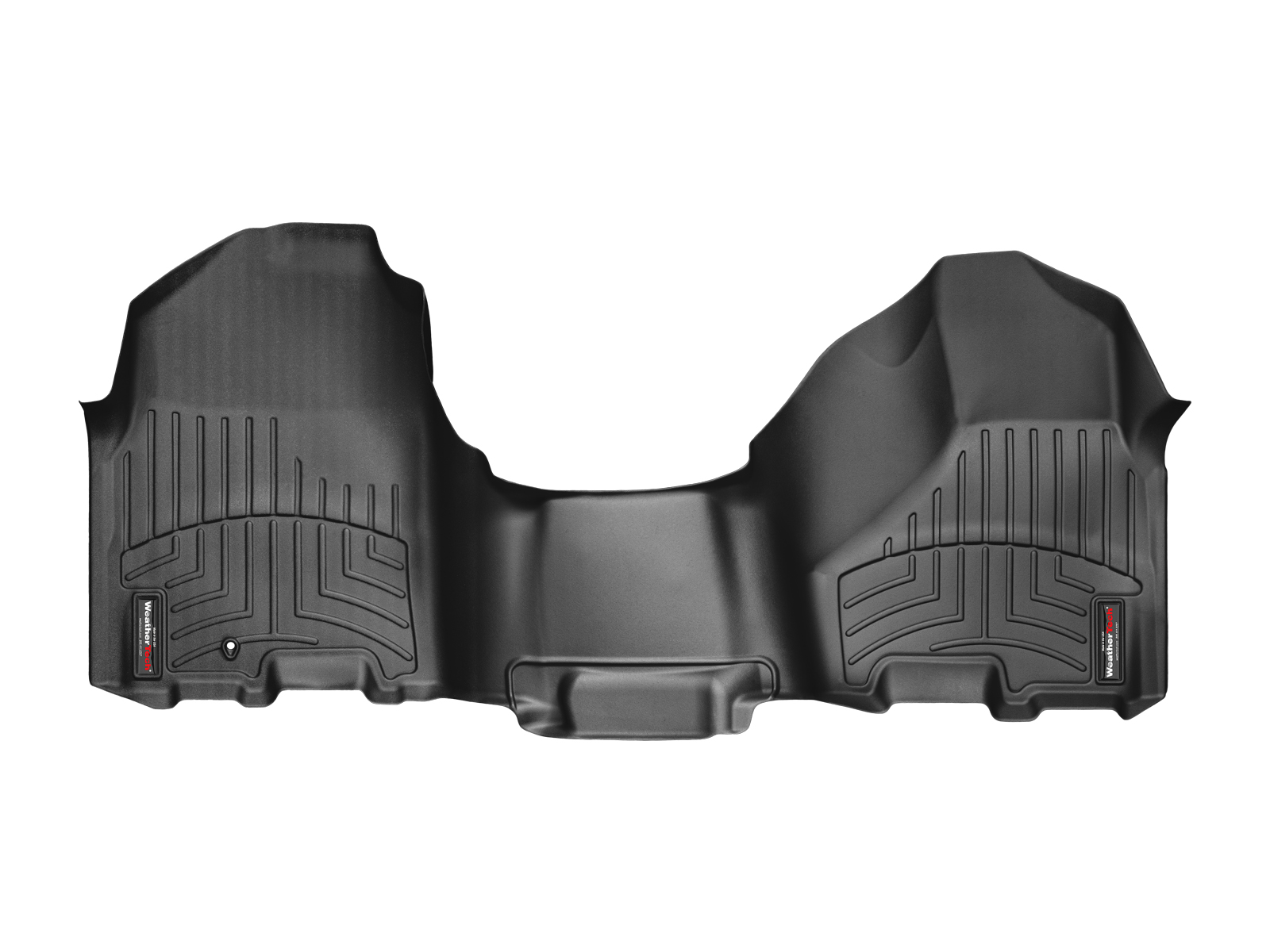 Tappeti gomma su misura bordo alto Dodge Ram Truck 2500/3500 12>12 Nero A721*