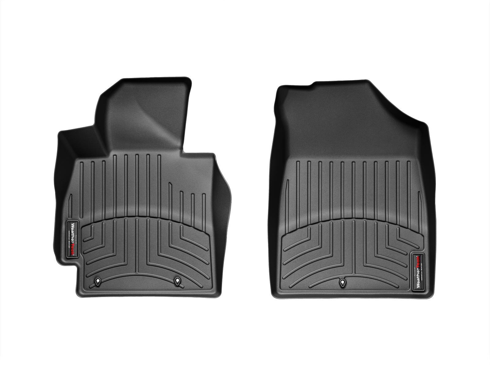 Tappeti gomma su misura bordo alto Hyundai Veloster 11>16 Nero A1506