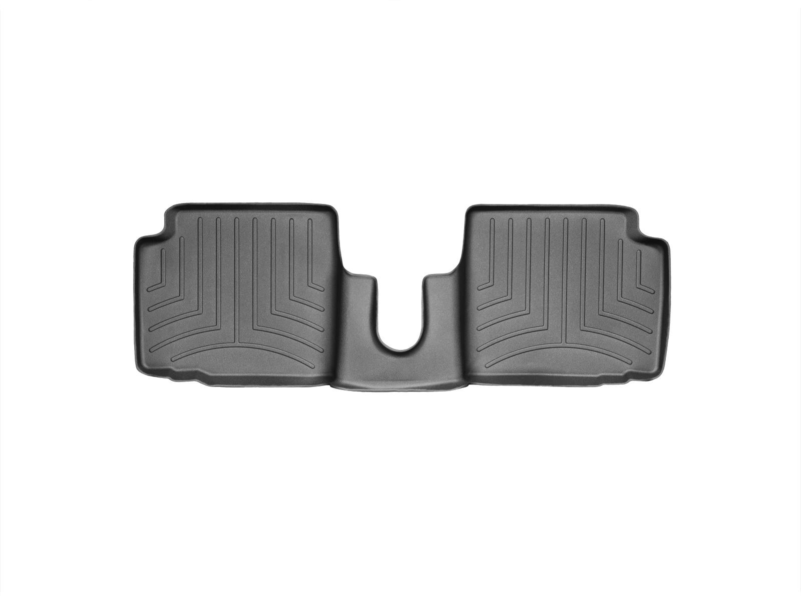 Tappeti gomma su misura bordo alto Fiat 500C 09>17 Nero A768*