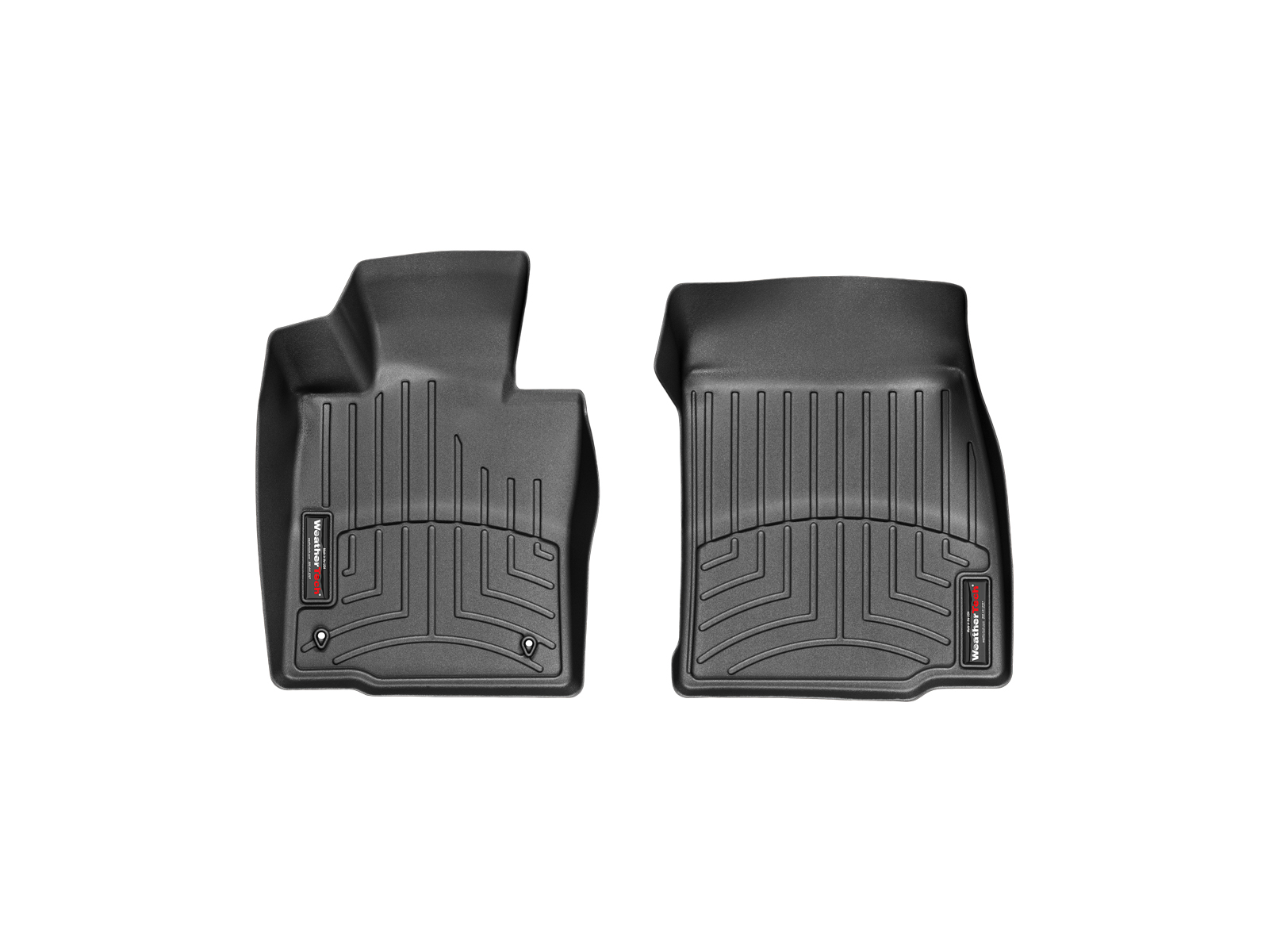 Tappeti gomma Weathertech bordo alto MINI Countryman 17>17 Nero A2699