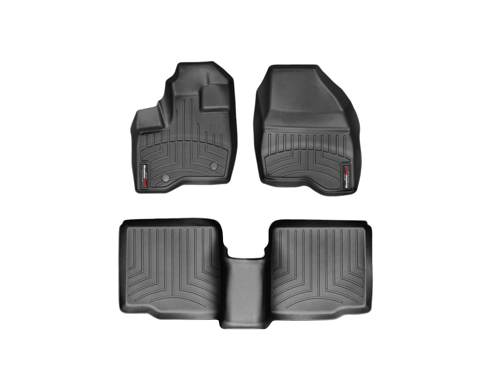 Tappeti gomma su misura bordo alto Ford Explorer 11>14 Nero A868*