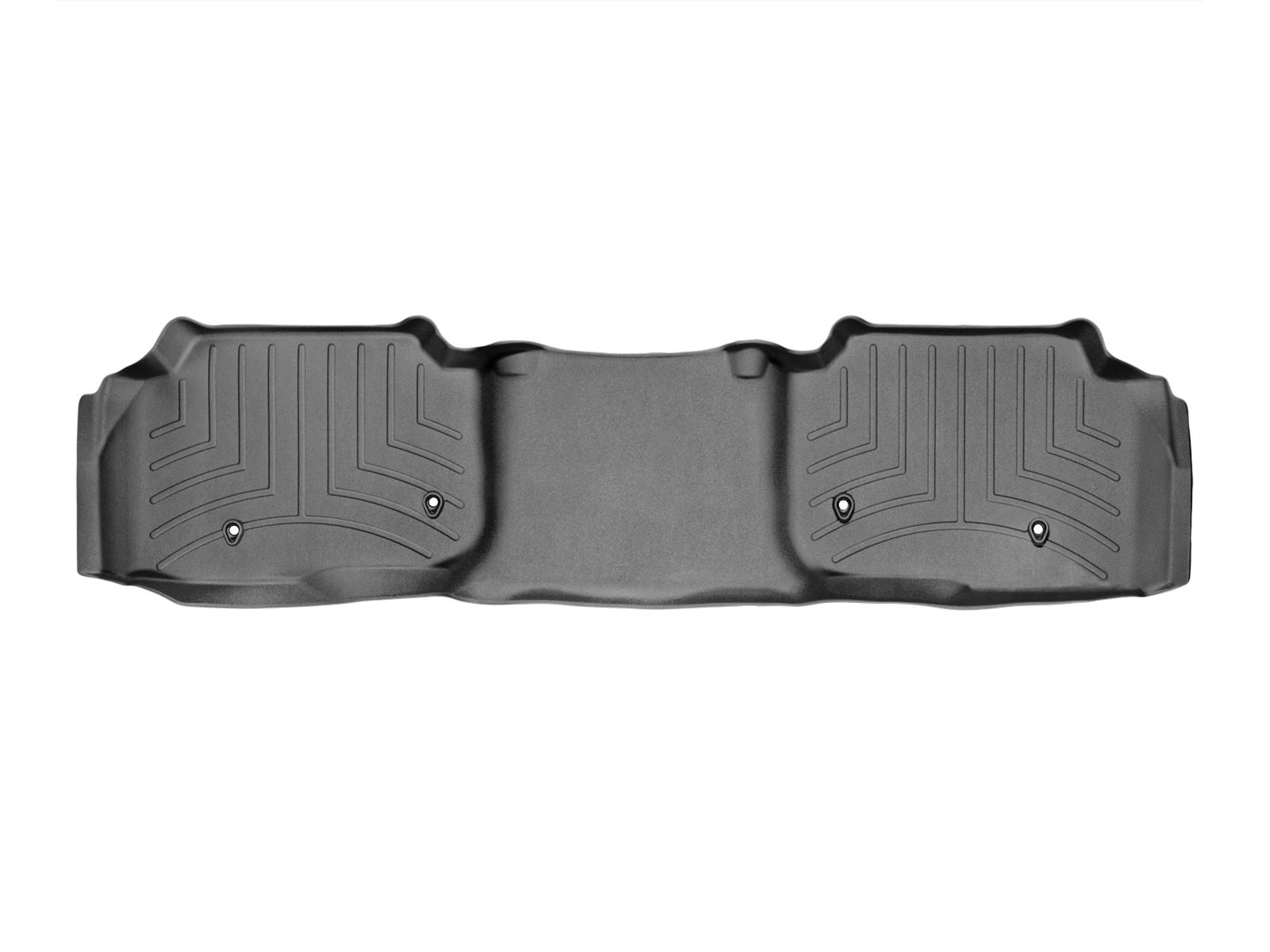 Tappeti gomma su misura bordo alto Land Rover 13>17 Nero A1989*