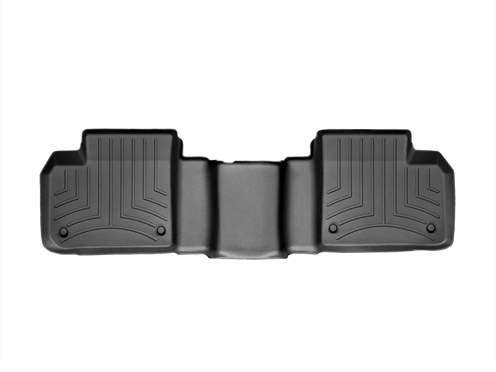 Tappeti gomma su misura bordo alto Mercedes GLE-Class 15>17 Nero A2485
