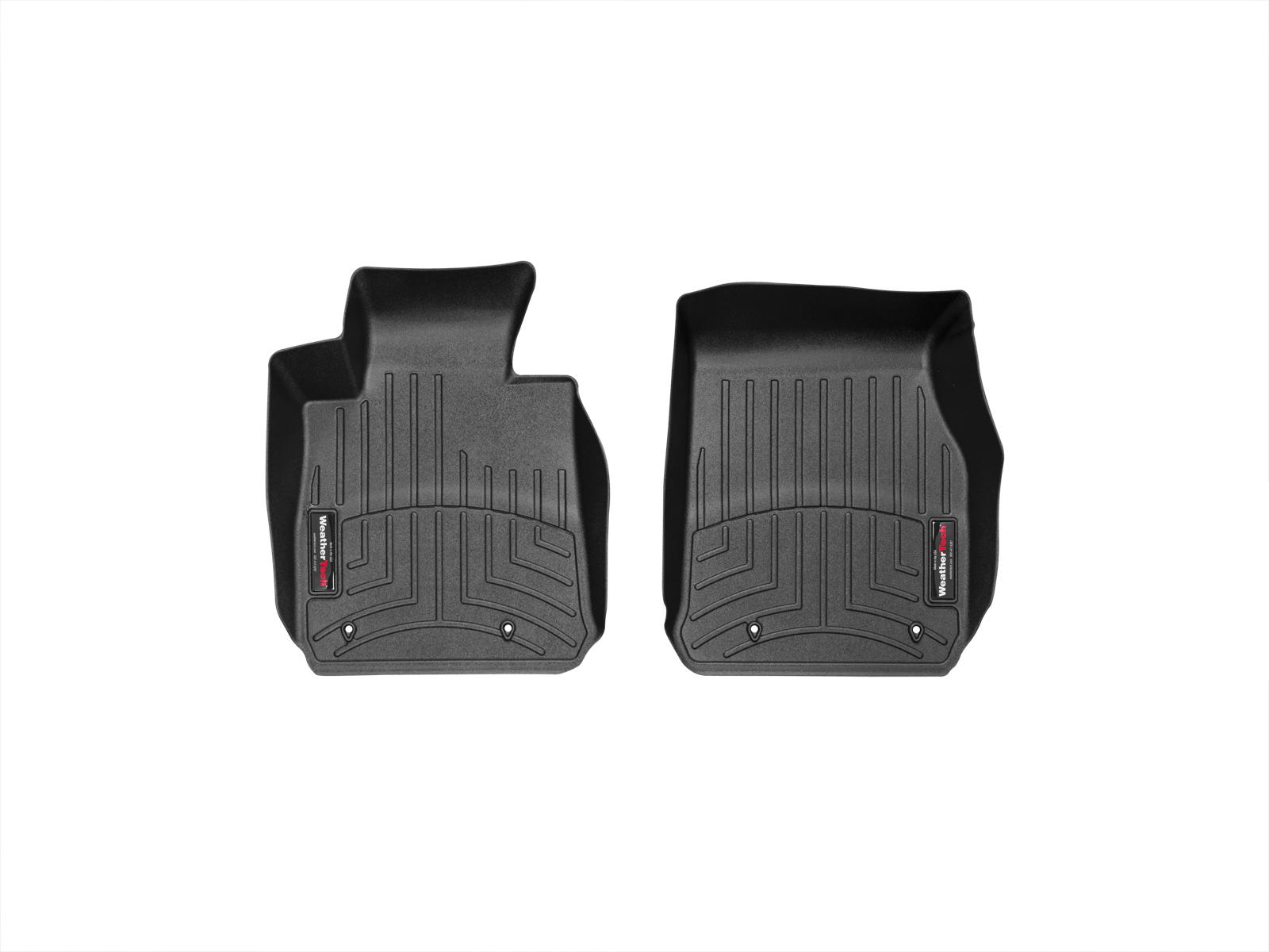 BMW Serie 1 (F20/F21) 11>17 Tappeti gomma su misura bordo alto nero