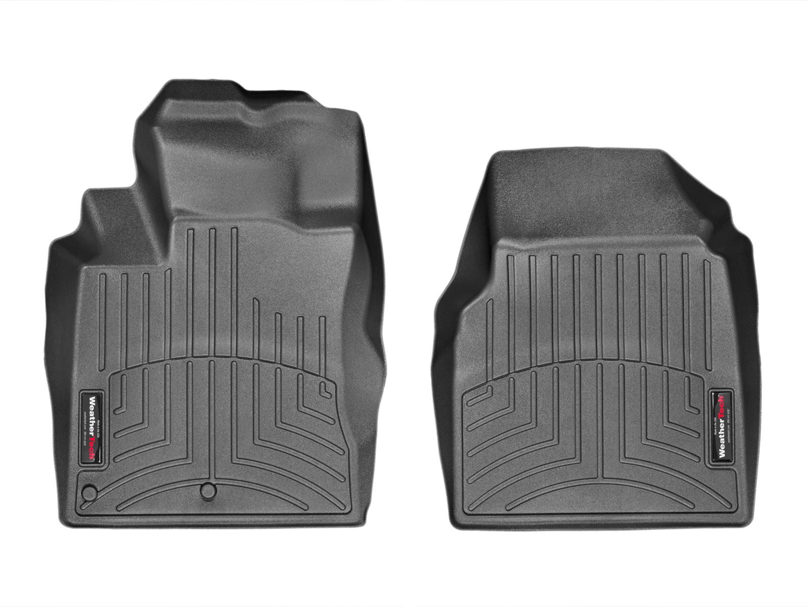 Tappeti gomma su misura bordo alto Nissan Qashqai 07>13 Nero A2915