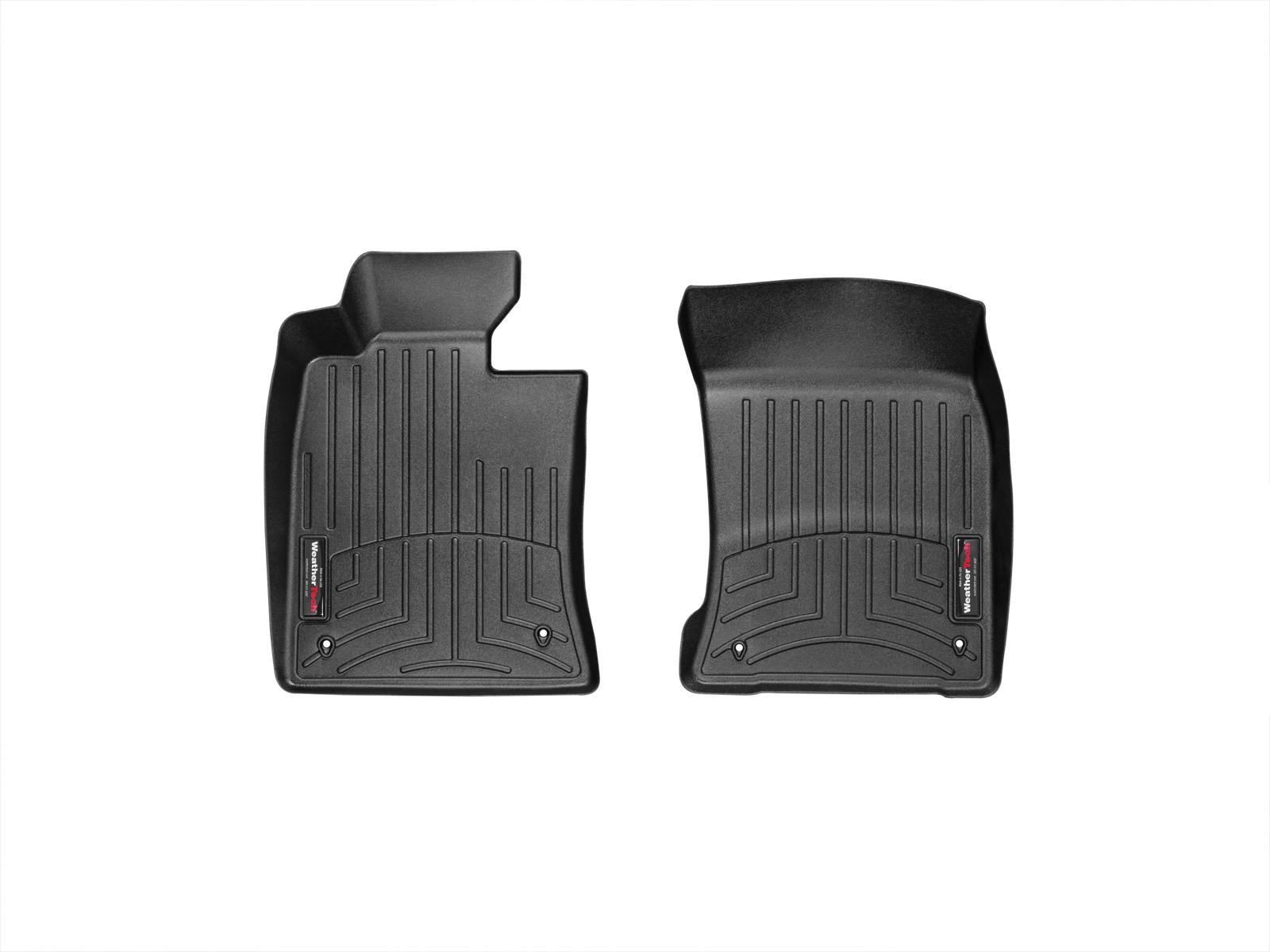 Tappeti gomma su misura bordo alto MINI Coupe 12>15 Nero A2709