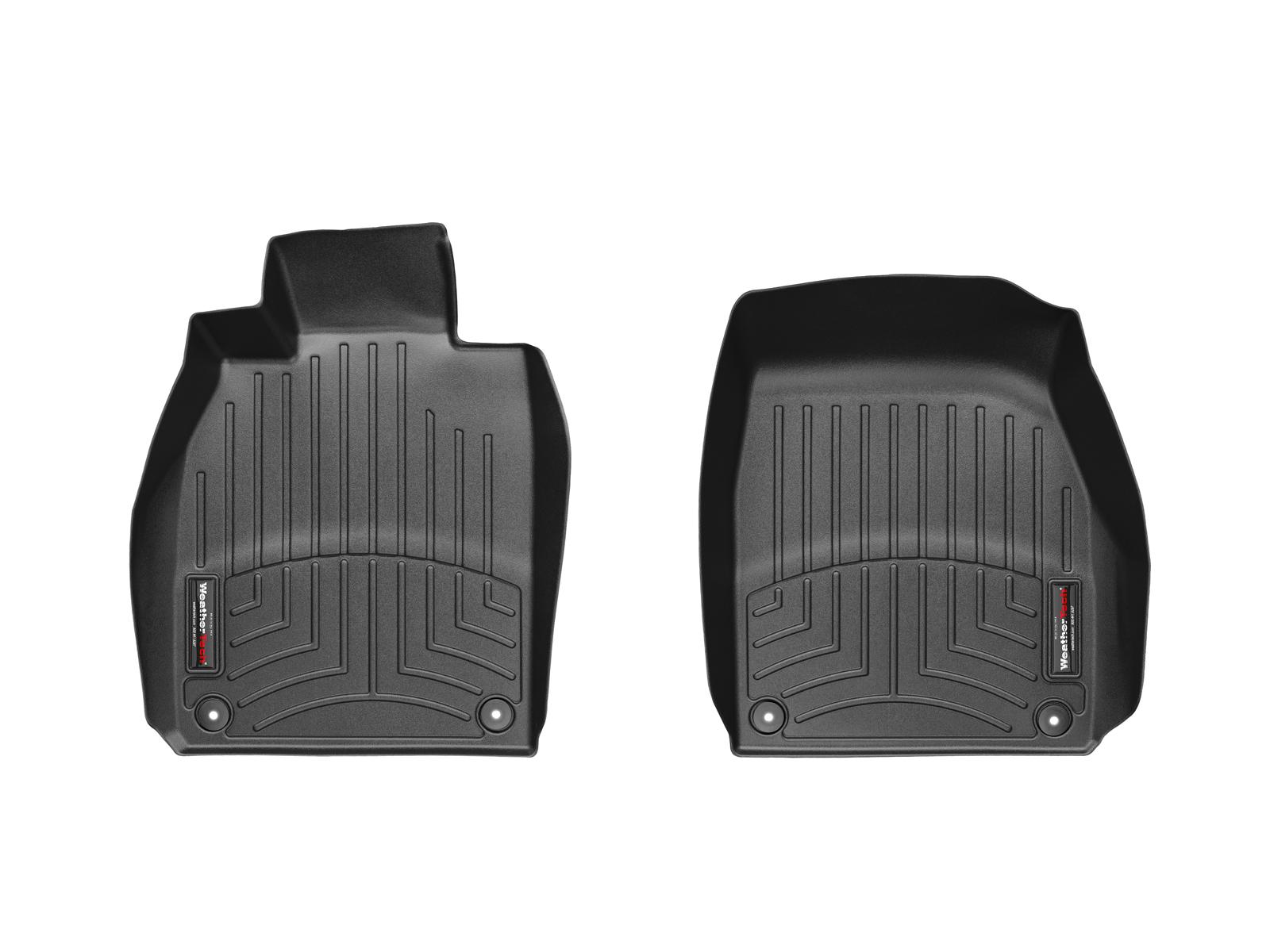 Tappeti gomma su misura bordo alto Porsche® 911® (991) 11>17 Nero A3080