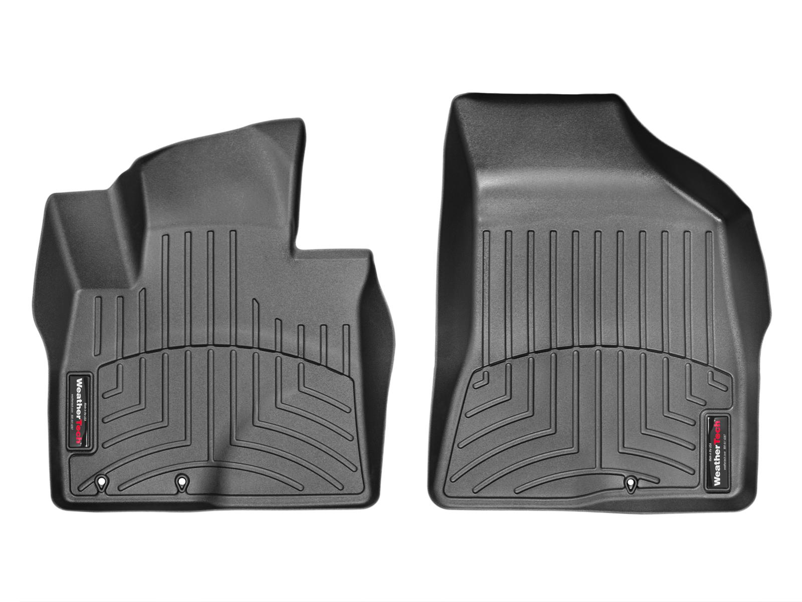 Tappeti gomma su misura bordo alto Hyundai Santa Fe 12>12 Nero A1487