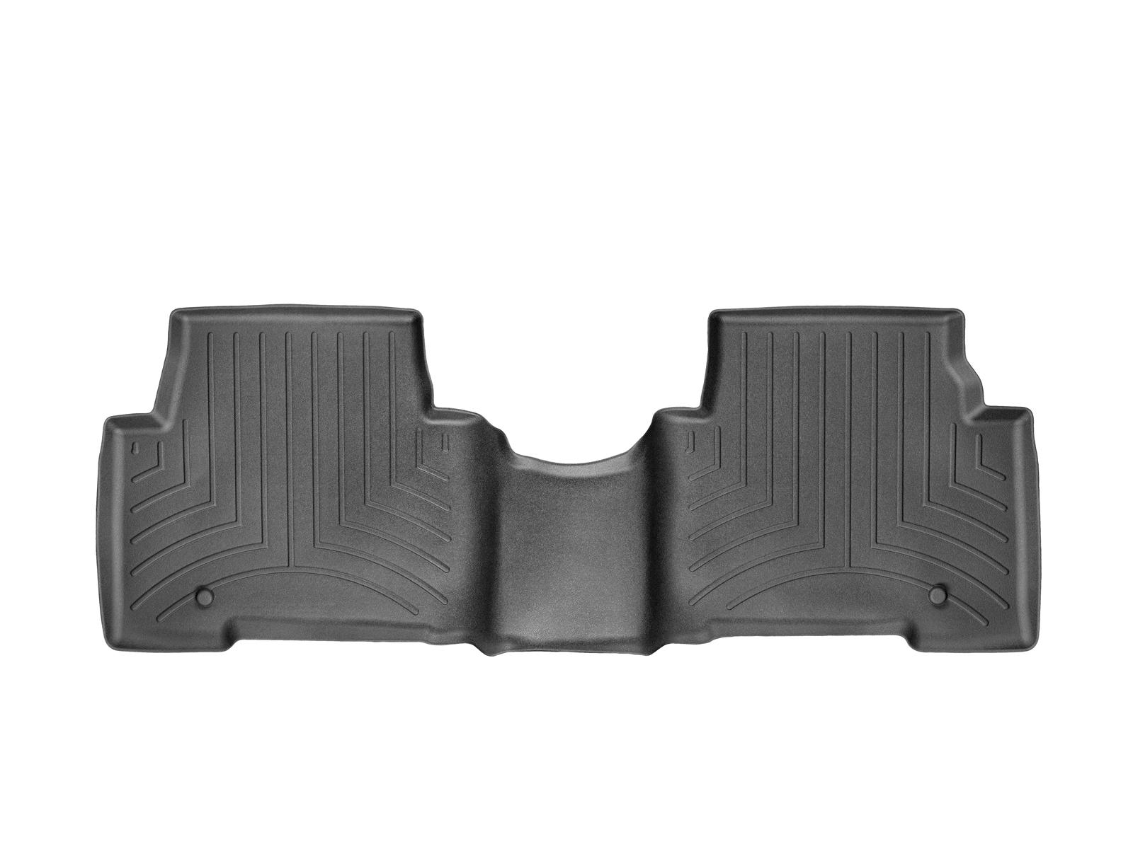 Tappeti gomma su misura bordo alto Hyundai Santa Fe 13>17 Nero A1495