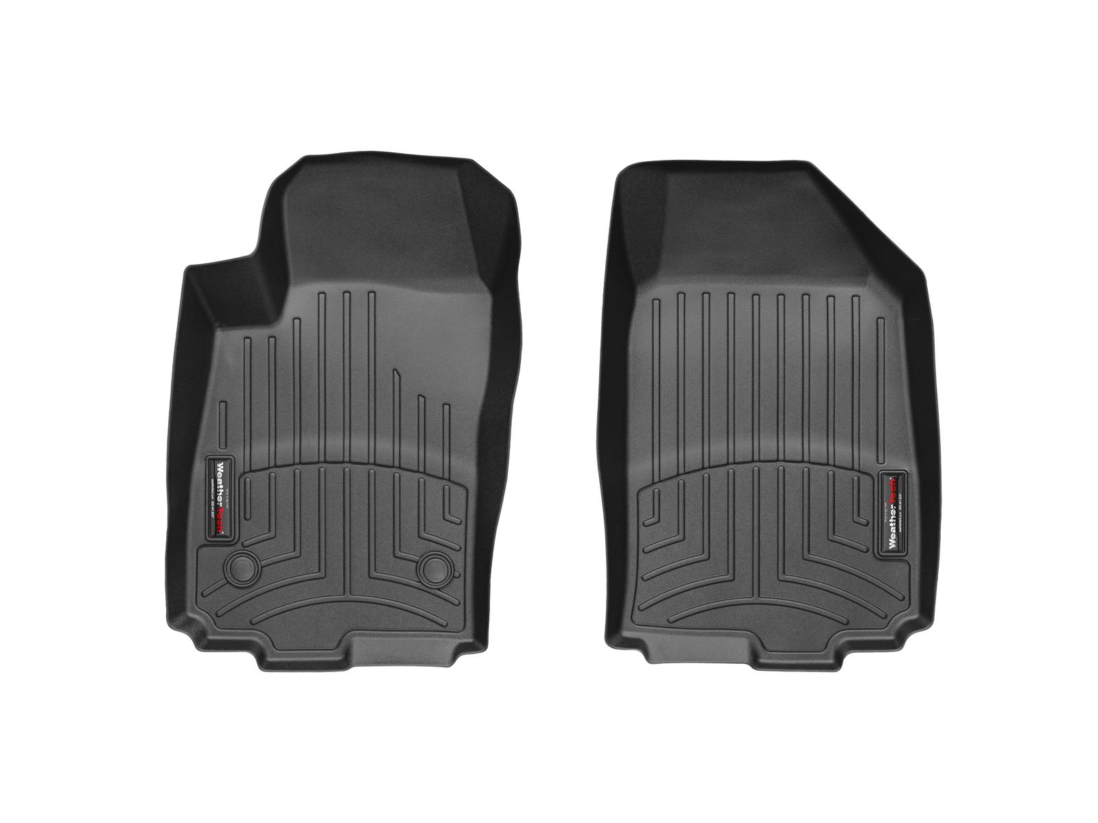 Tappeti gomma su misura bordo alto Chevrolet Sonic 12>17 Nero A205