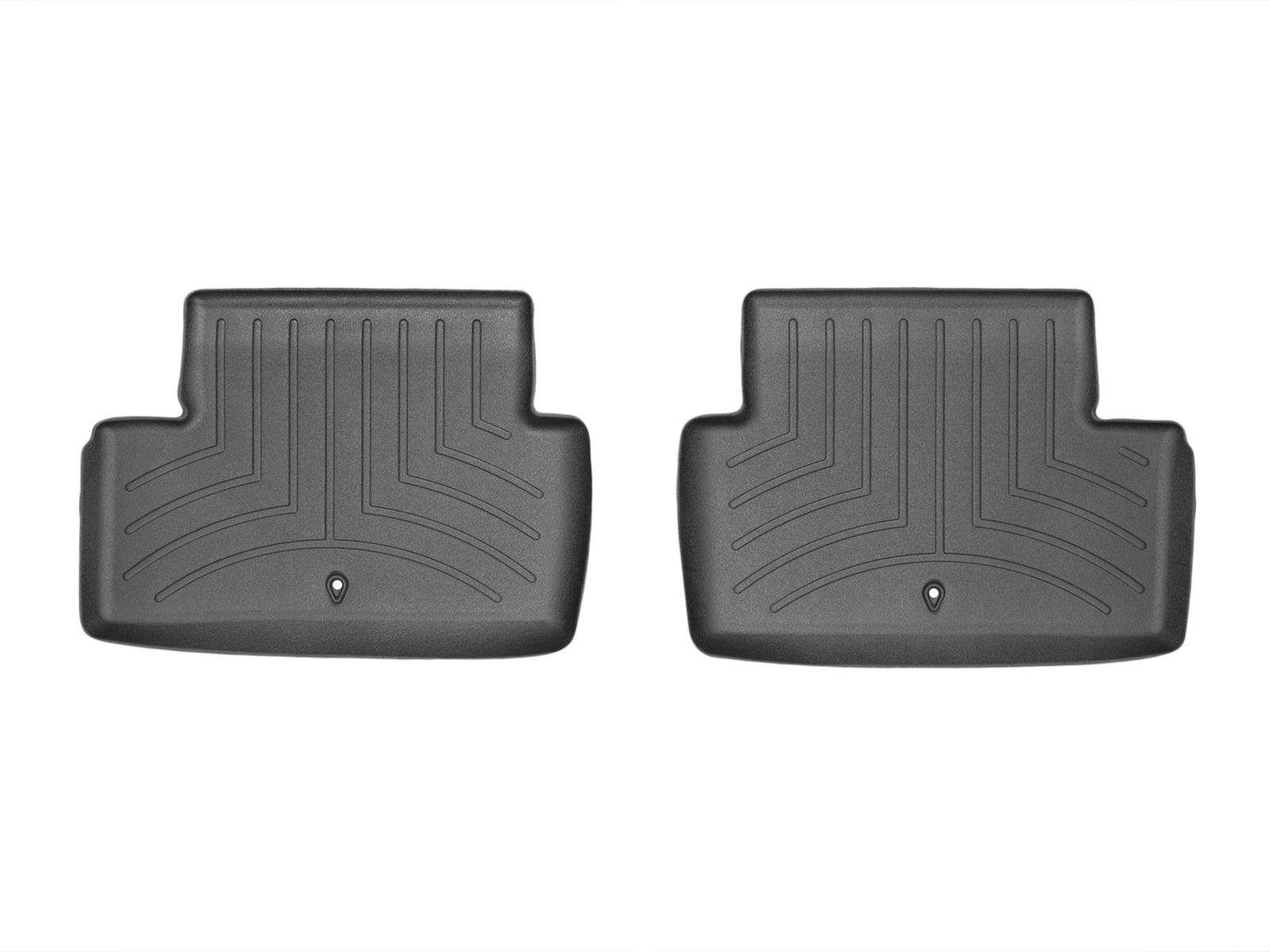 Tappeti gomma su misura bordo alto Renault Megane 08>15 Nero A3239