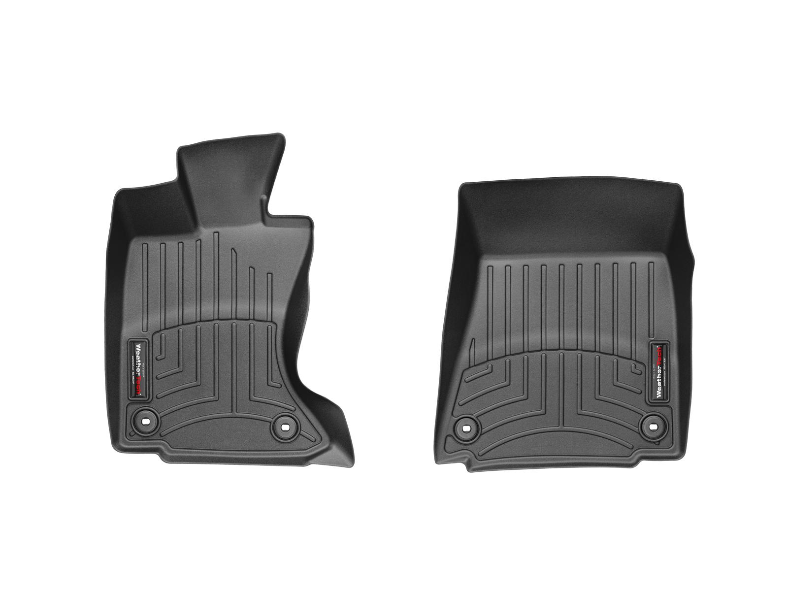 Tappeti gomma su misura bordo alto Lexus GS 13>17 Nero A2018*