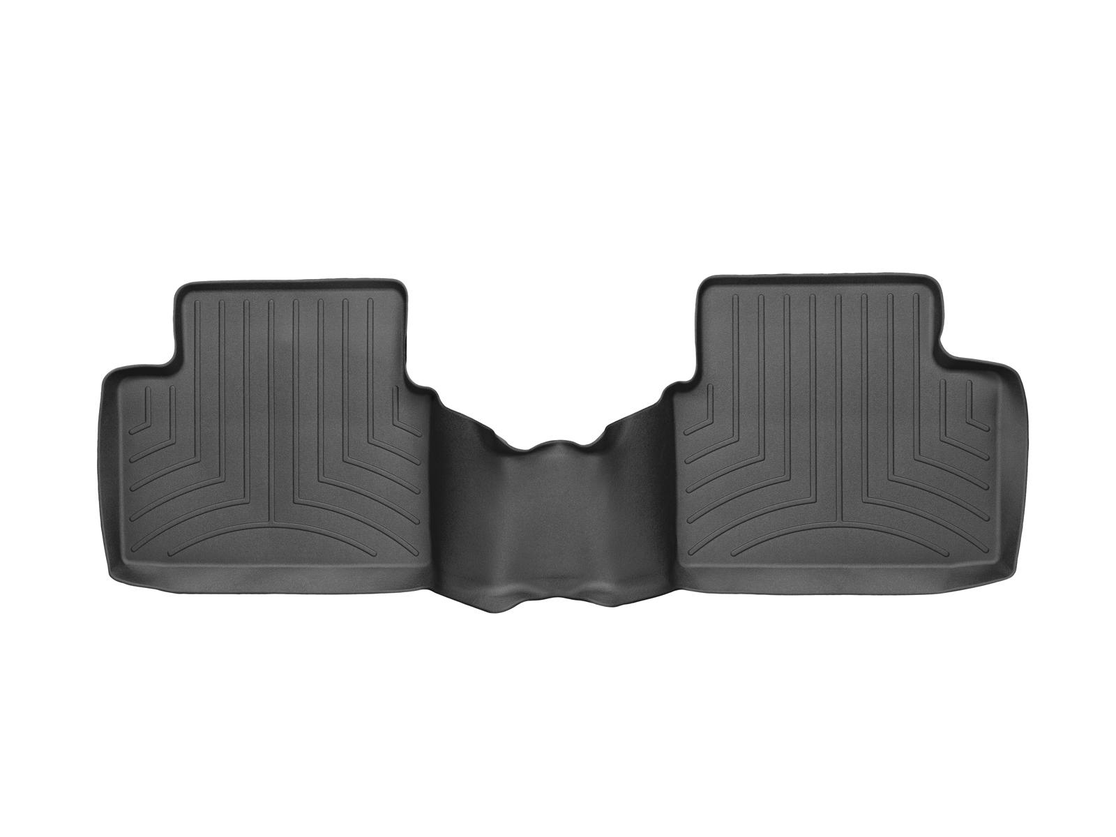 Tappeti gomma su misura bordo alto Chevrolet Malibu 13>15 Nero A147