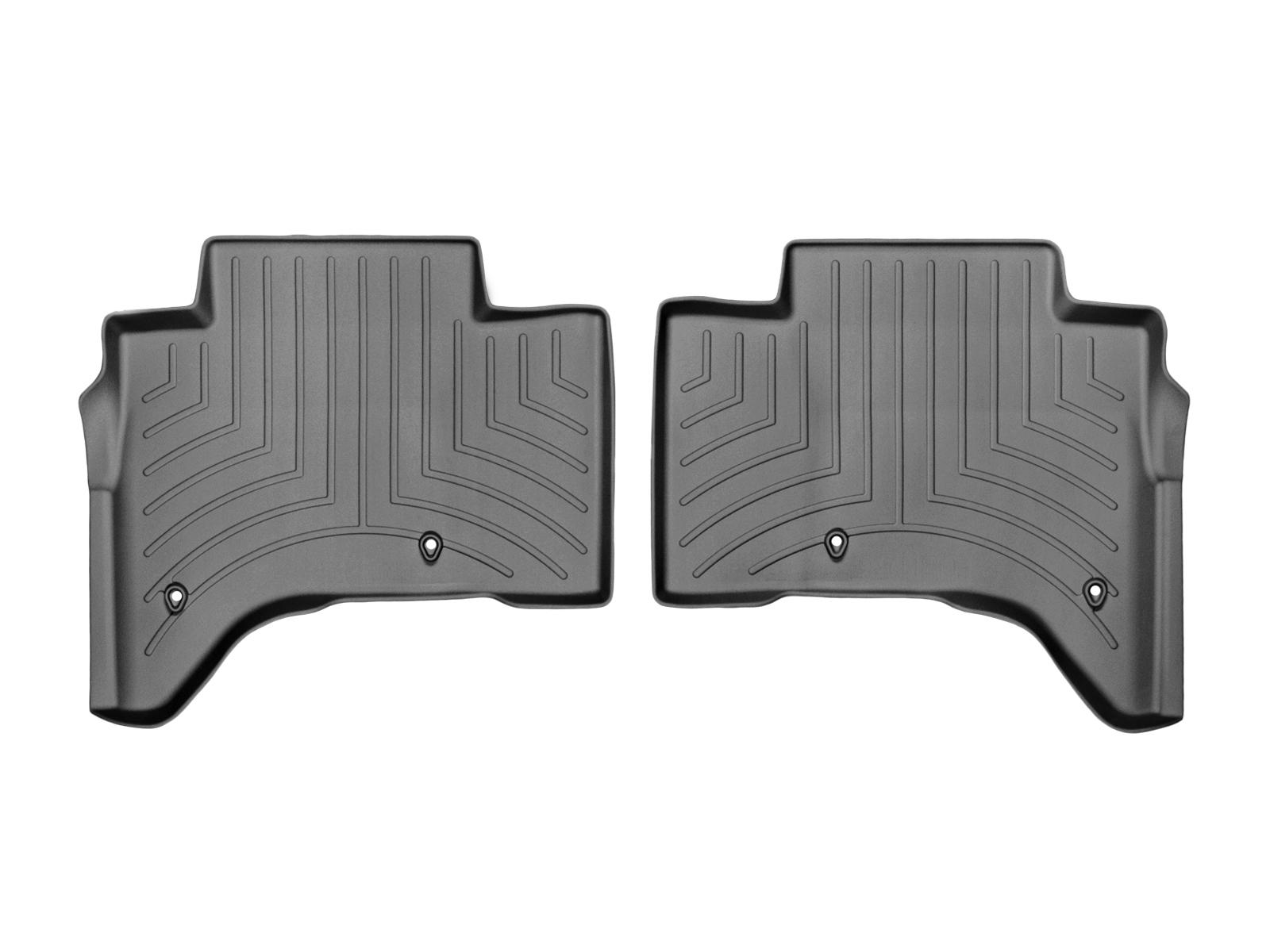 Tappeti gomma su misura bordo alto Land Rover 13>17 Nero A1988*