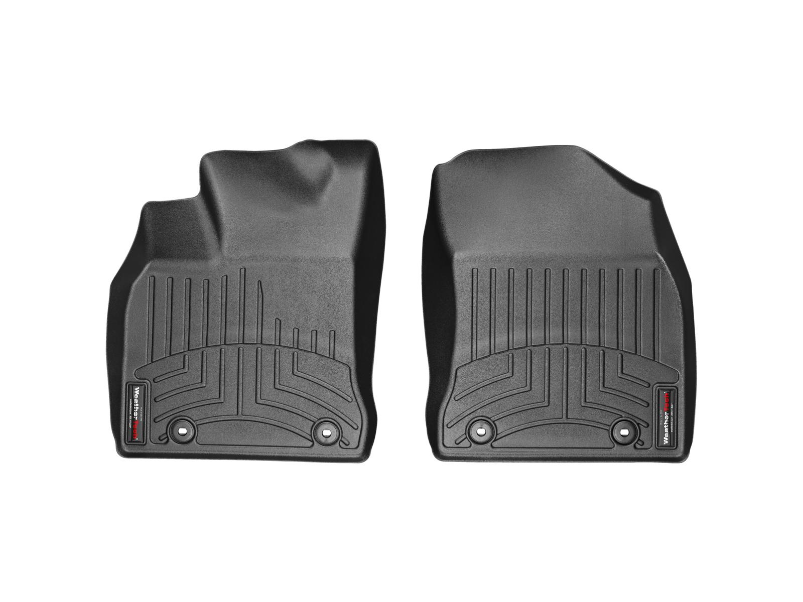 Tappeti gomma su misura bordo alto Lexus CT 11>17 Nero A2011*