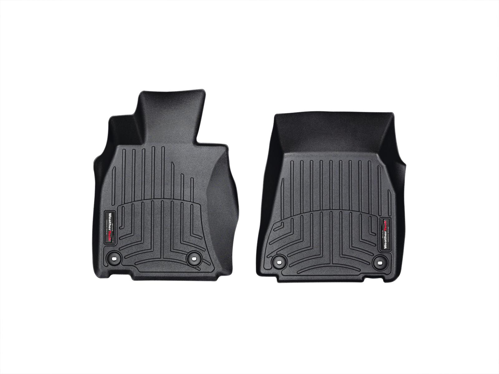 Tappeti gomma su misura bordo alto Lexus LS 13>17 Nero A2072