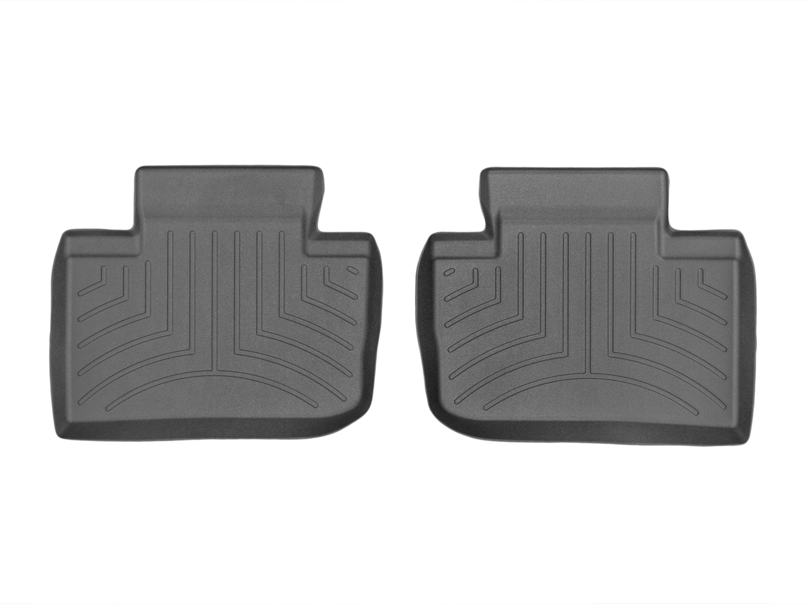 Tappeti gomma Weathertech bordo alto Lexus IS 13>13 Nero A2060
