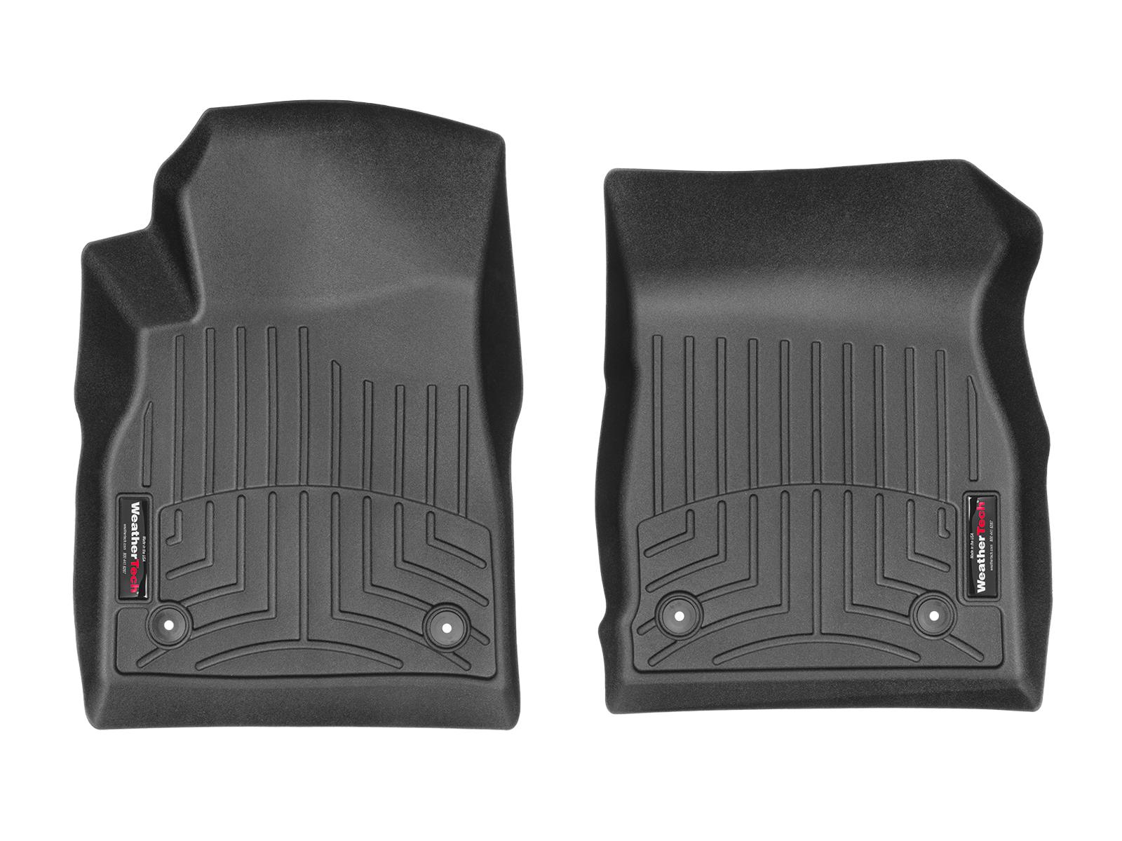 Tappeti gomma su misura bordo alto Opel Astra 09>09 Nero A2963