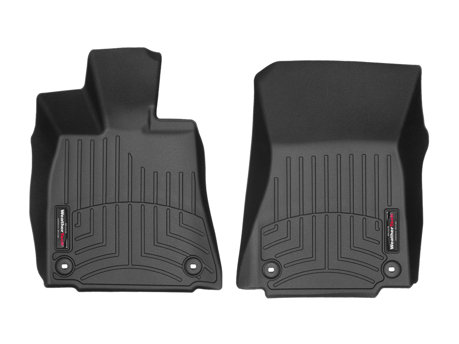 Tappeti gomma su misura bordo alto Lexus IS 14>17 Nero A2061