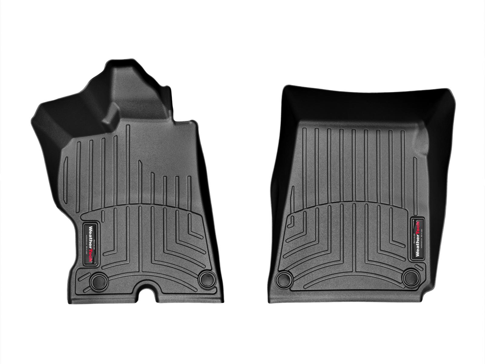 Tappeti gomma su misura bordo alto Ferrari FF 12>16 Nero A748*