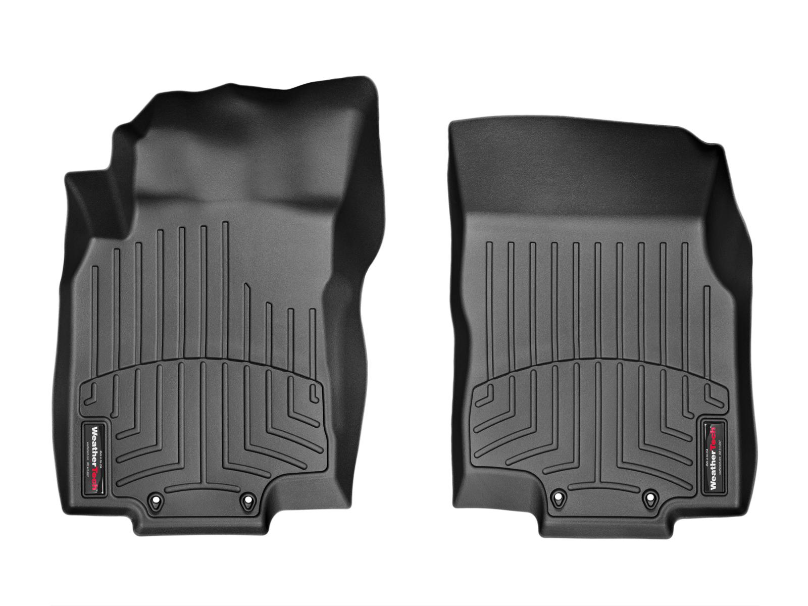 Tappeti gomma su misura bordo alto Nissan X-Trail 14>14 Nero A2938