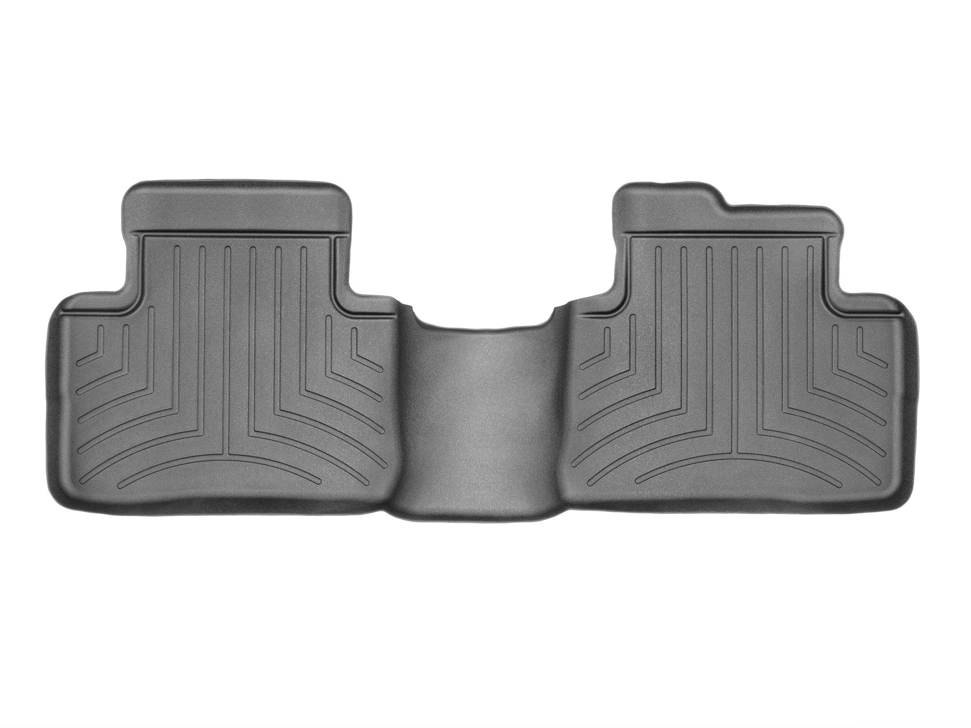 Tappeti gomma su misura bordo alto Nissan X-Trail 14>14 Nero A2939
