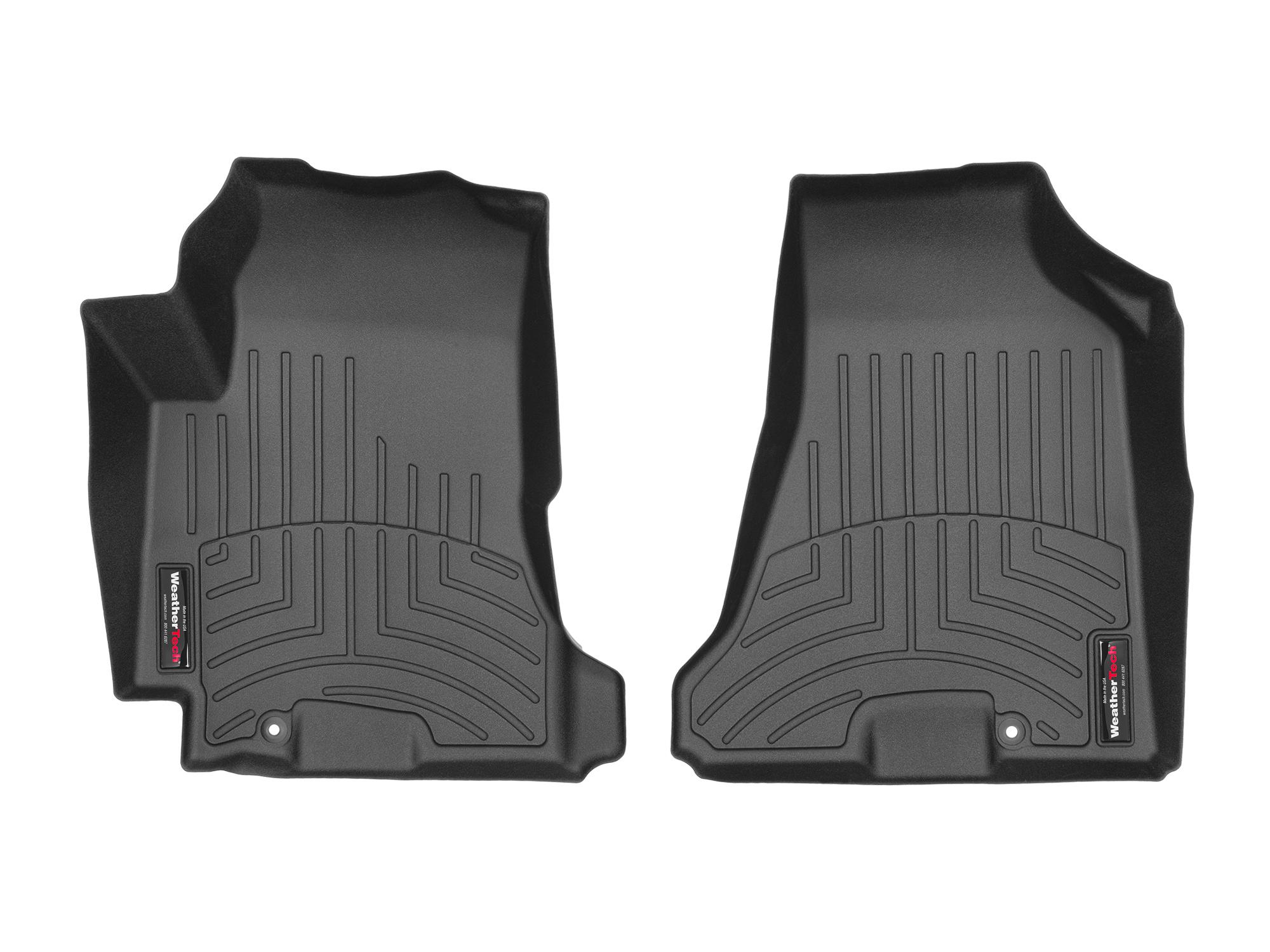 Tappeti gomma su misura bordo alto Hyundai Tucson 05>09 Nero A1497