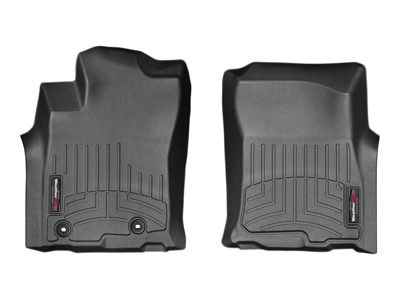 Tappeti gomma su misura bordo alto Toyota Prado 14>14 Nero A3719*