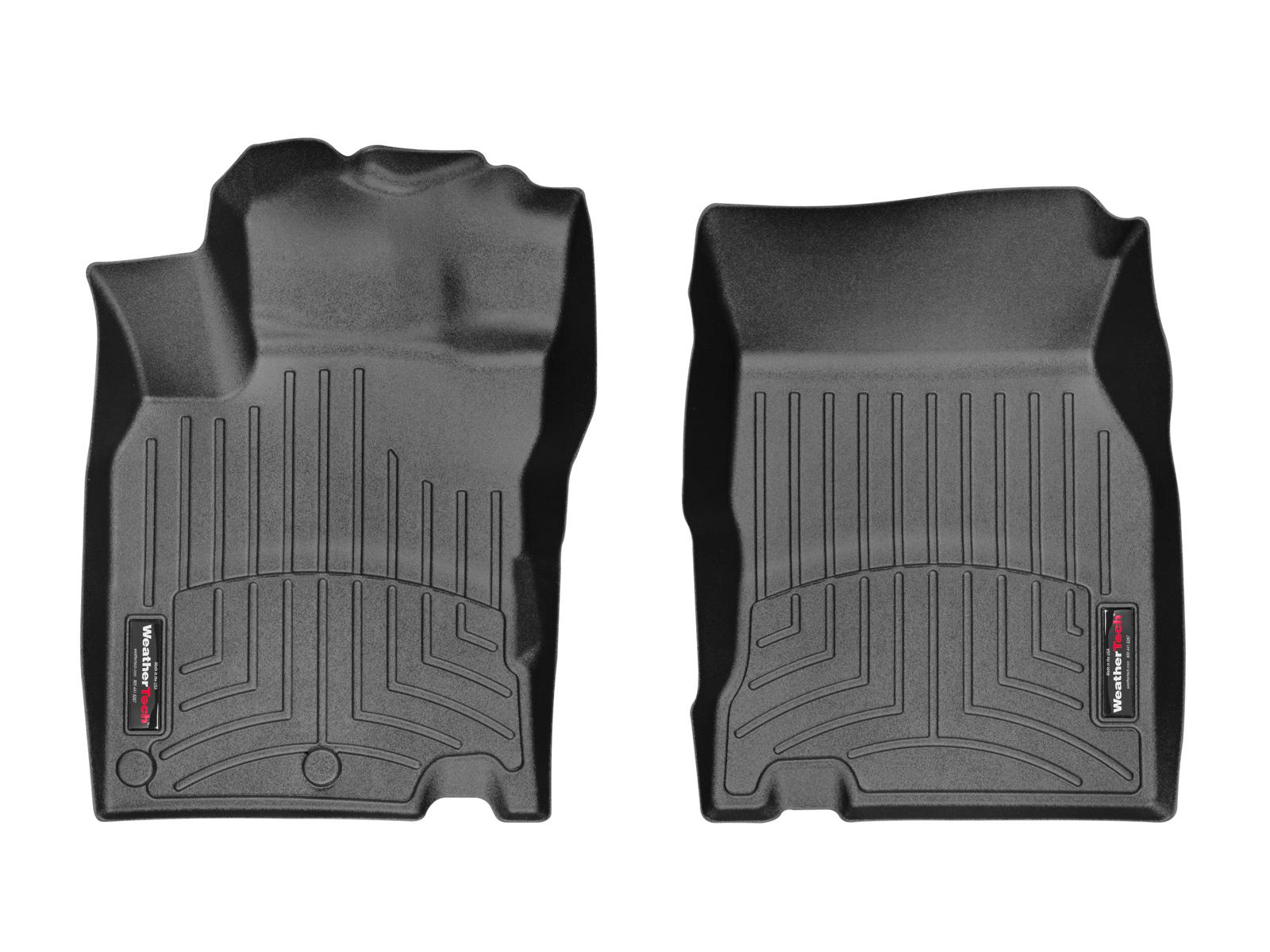 Tappeti gomma su misura bordo alto Nissan Qashqai 14>17 Nero A2917