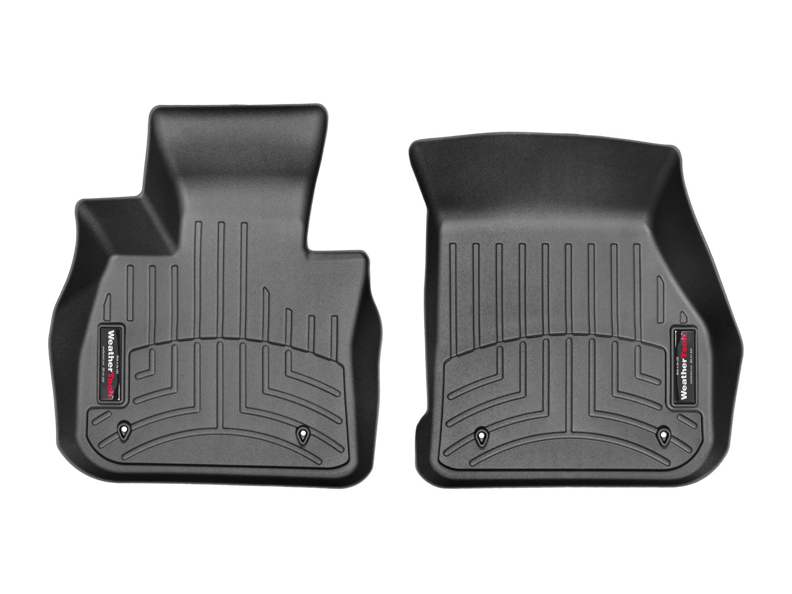 BMW Serie 2 Gran Tourer 15>17 Tappeti gomma su misura bordo alto nero