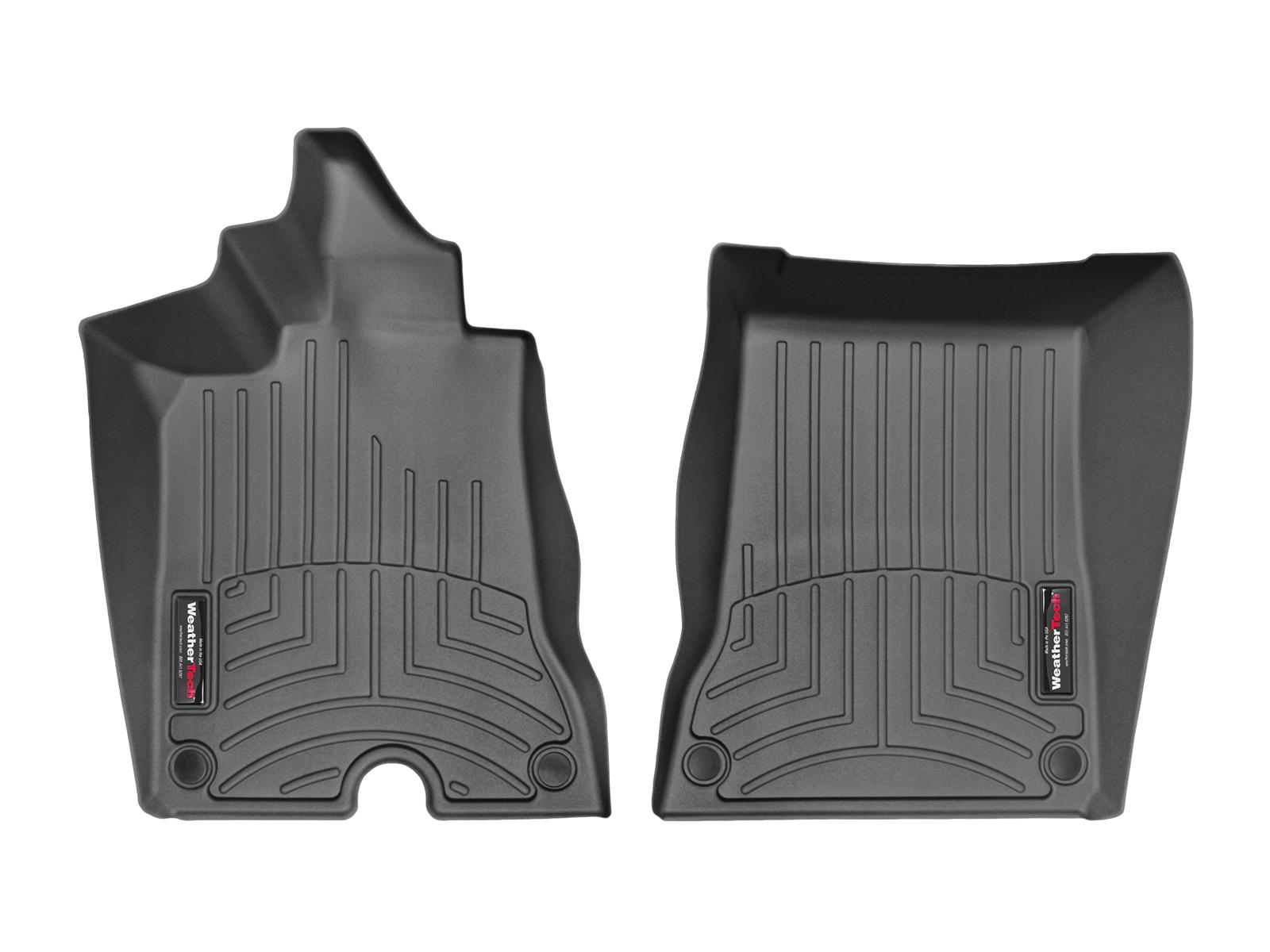 Tappeti gomma su misura bordo alto Ferrari California T 14>15 Nero A739*