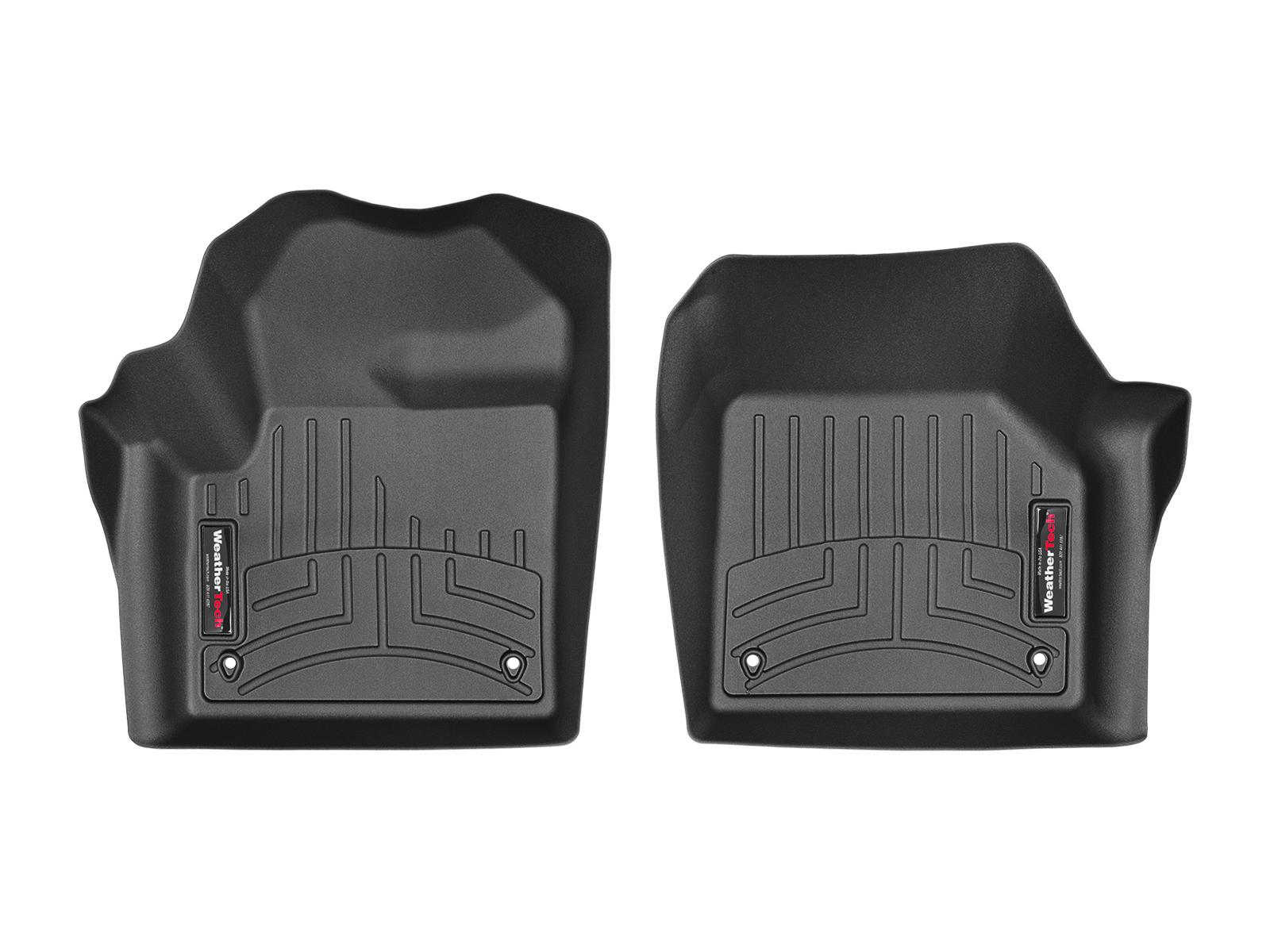 Tappeti gomma su misura bordo alto Land Rover 15>17 Nero A2002*