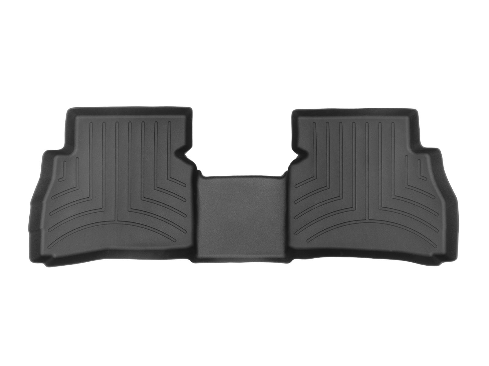 Tappeti gomma su misura bordo alto Fiat Doblo 10>17 Nero A782*