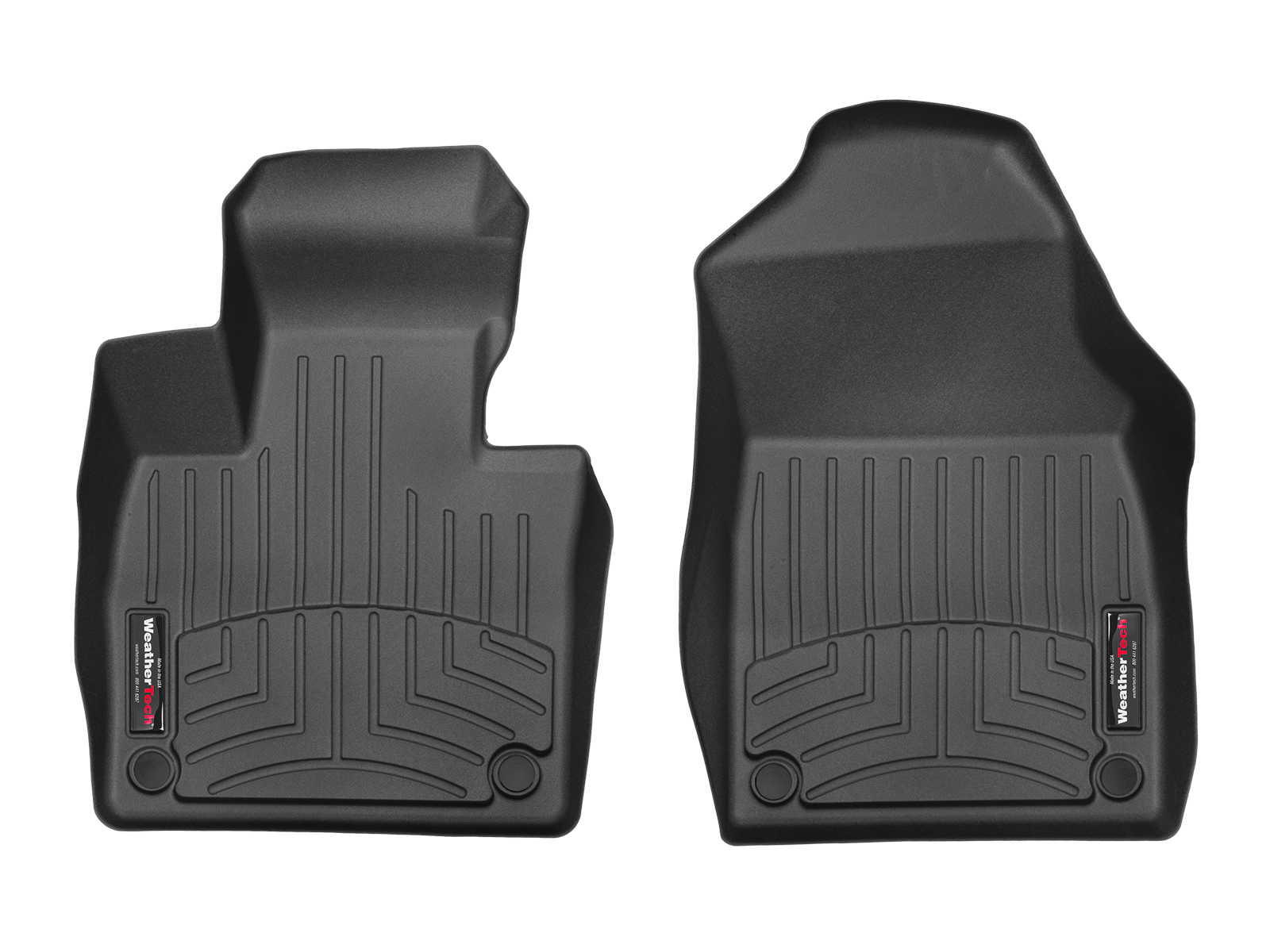 Tappeti gomma su misura bordo alto Volvo XC90 15>17 Nero A4460*