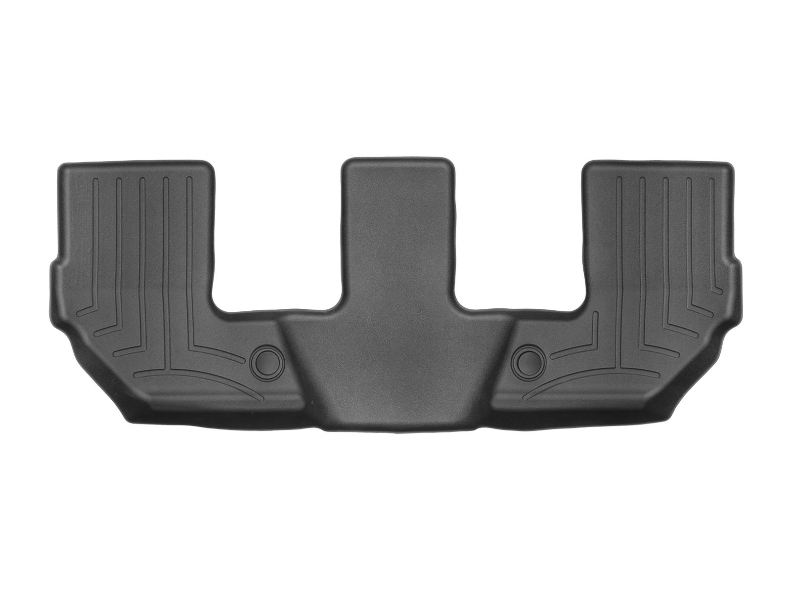 Tappeti gomma su misura bordo alto Volvo XC90 15>17 Nero A4463*