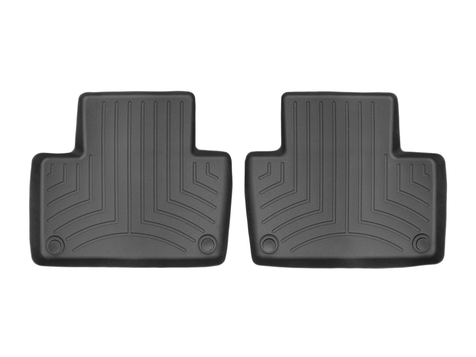 Tappeti gomma su misura bordo alto Volvo XC90 15>17 Nero A4461*
