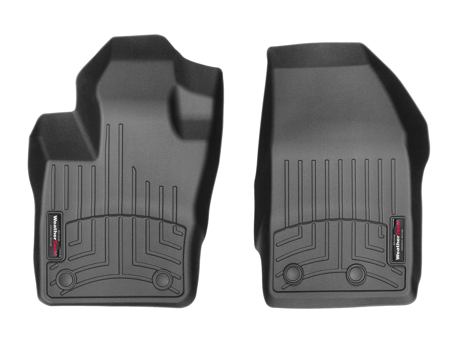 Tappeti gomma su misura bordo alto Fiat 500X 15>17 Nero A778*