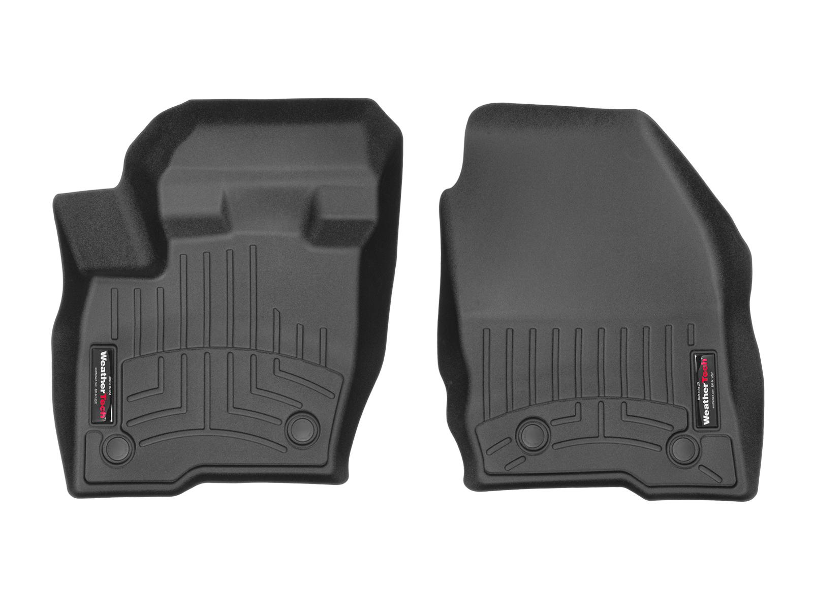 Tappeti gomma su misura bordo alto Ford Edge 16>17 Nero A854*