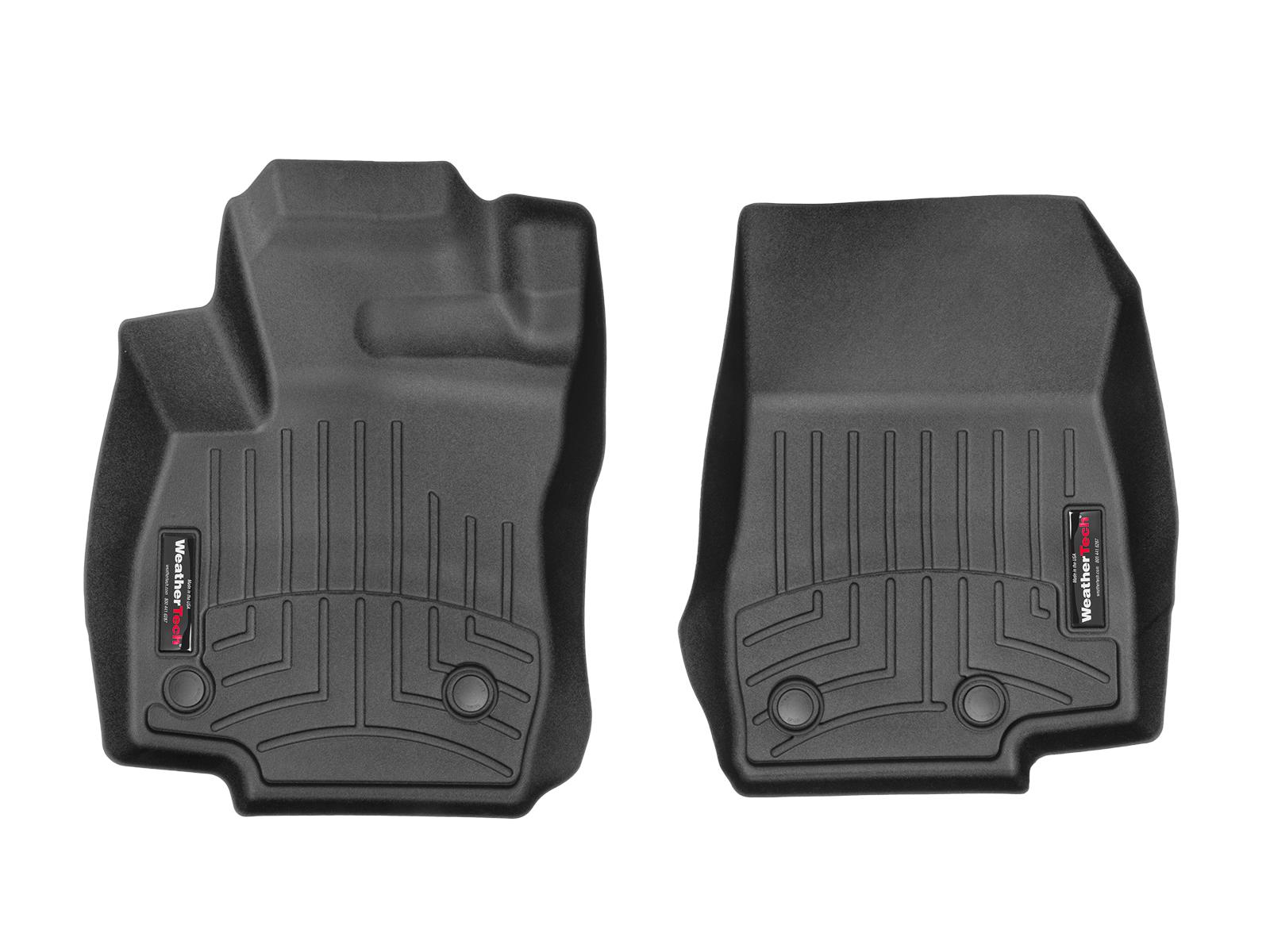 Tappeti gomma su misura bordo alto Ford B-Max 15>15 Nero A838*
