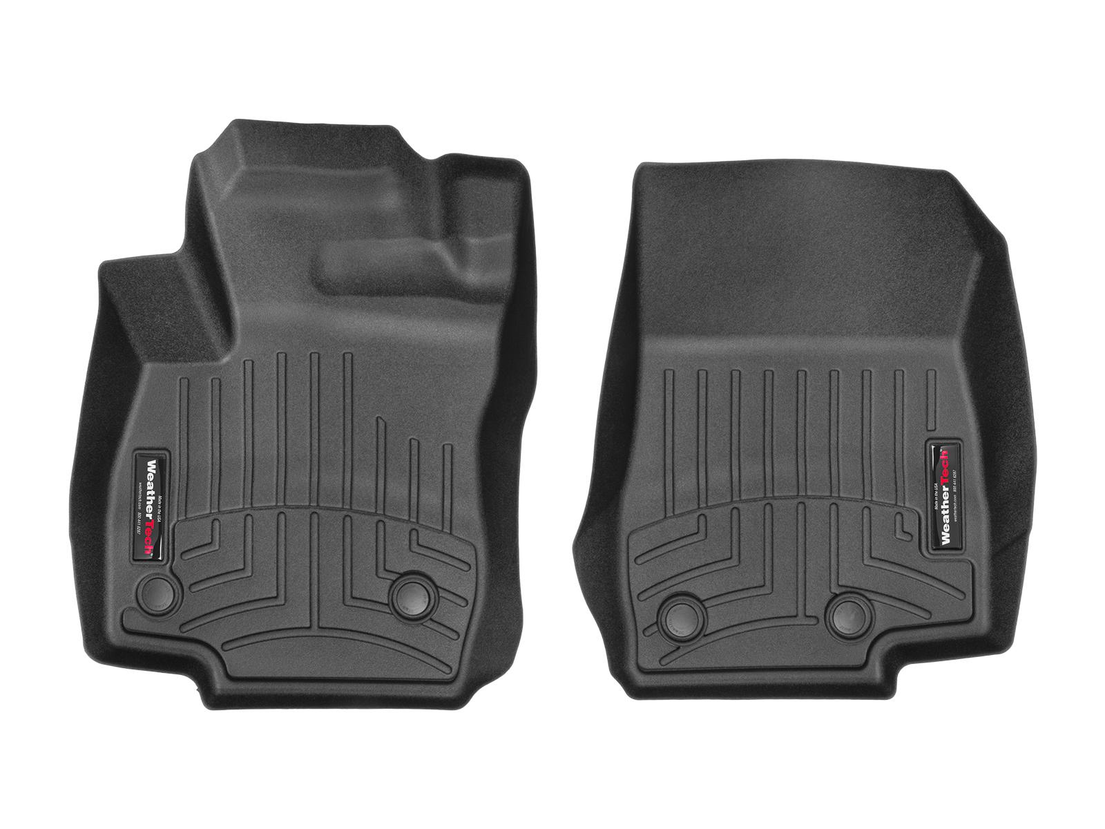 Tappeti gomma su misura bordo alto Ford B-Max 15>15 Nero A839*