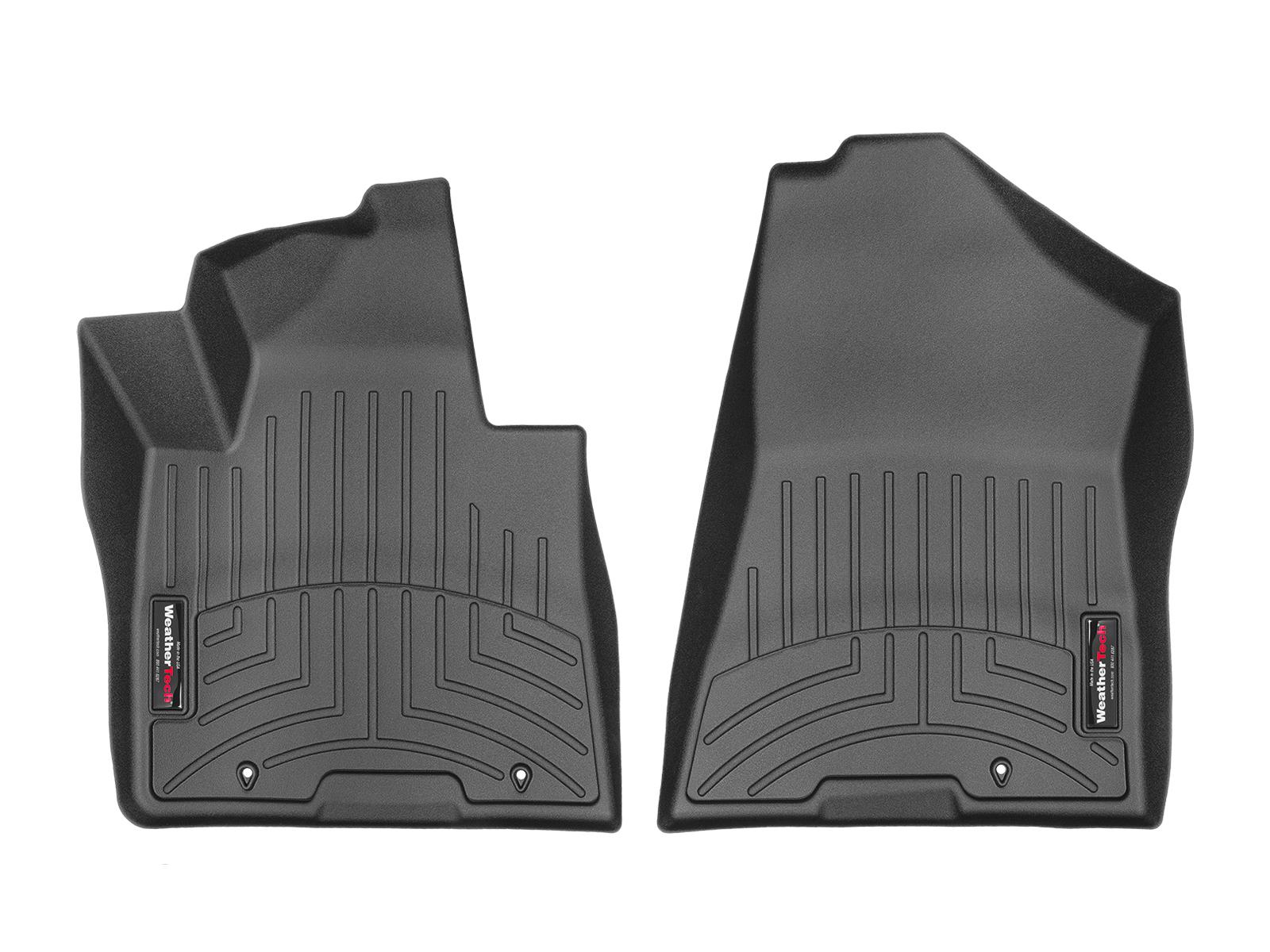 Tappeti gomma su misura bordo alto Hyundai Tucson 15>17 Nero A1502