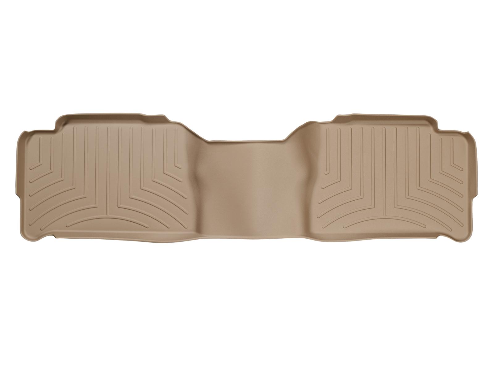 Tappeti gomma su misura bordo alto Cadillac Escalade 02>06 Marrone A9*