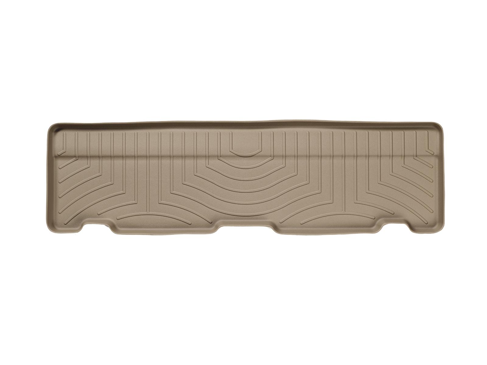 Tappeti gomma su misura bordo alto Cadillac Escalade 02>06 Marrone A11*
