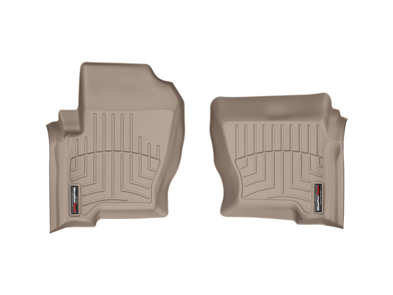 Tappeti gomma su misura bordo alto Land Rover 08>08 Marrone A1929*