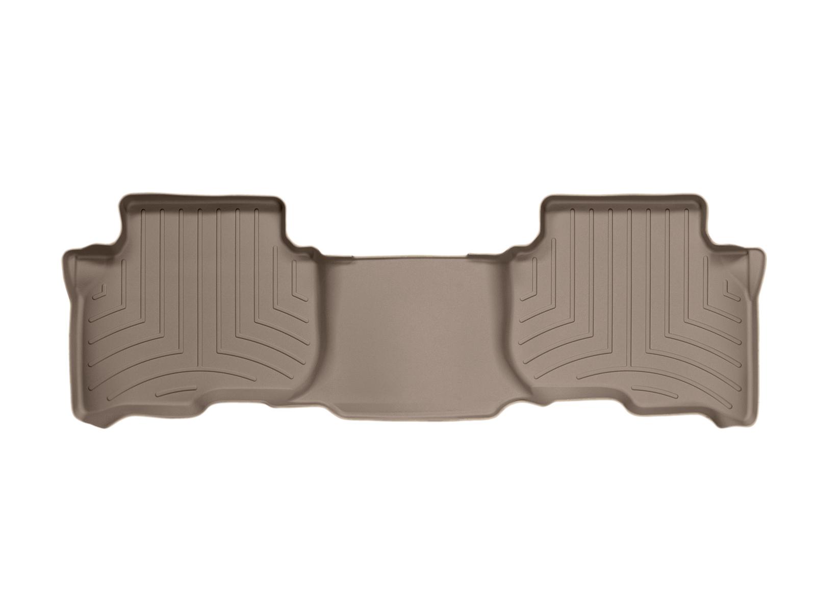 Tappeti gomma su misura bordo alto Land Rover 04>09 Marrone A1909*