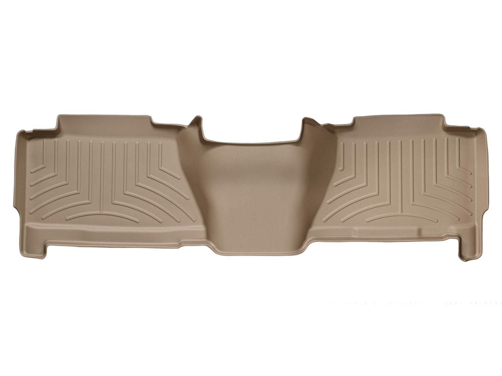 Tappeti gomma su misura bordo alto Cadillac Escalade EXT 02>06 Marrone A72*