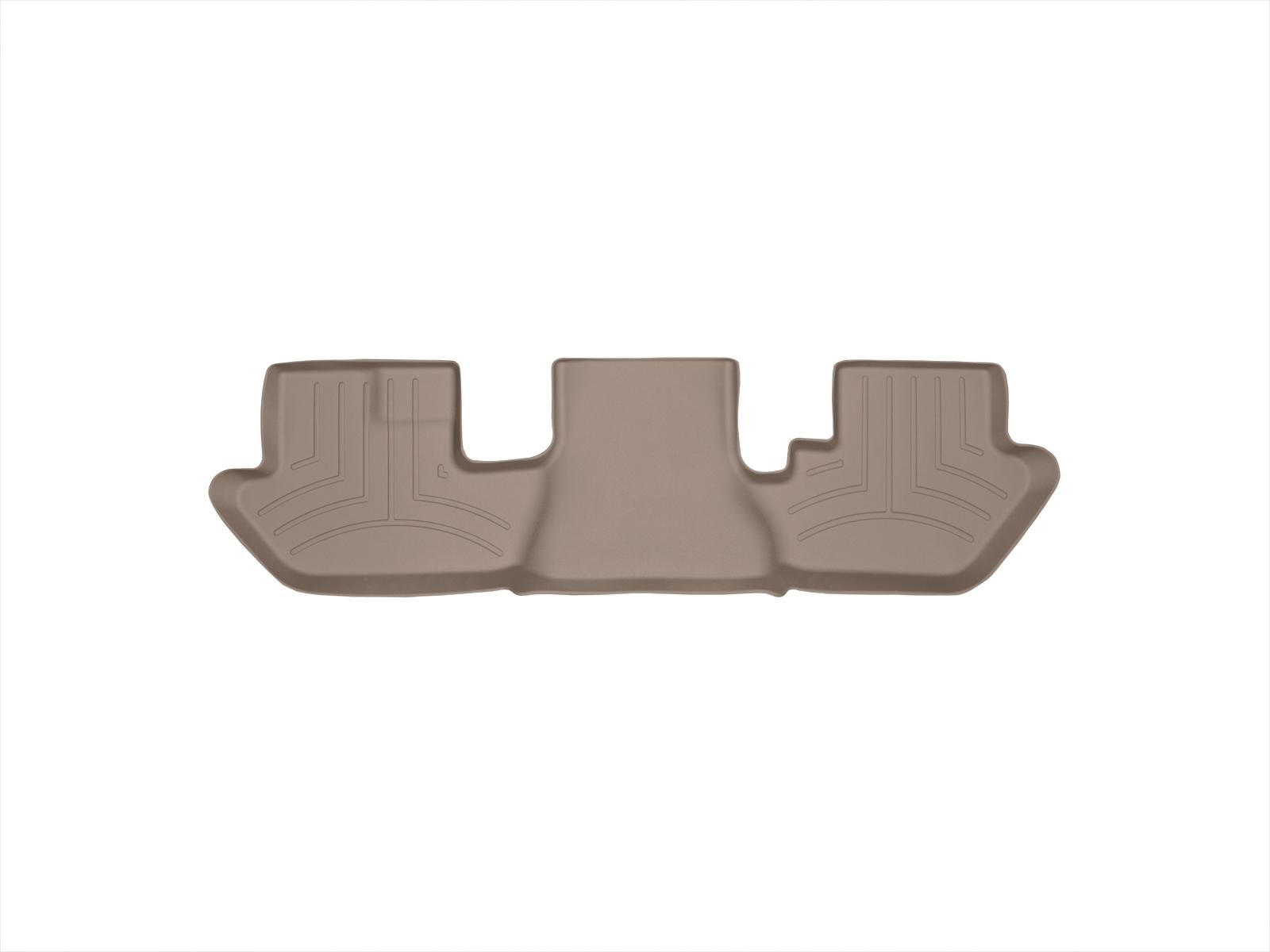 Tappeti gomma su misura bordo alto Cadillac Escalade ESV 03>06 Marrone A36*