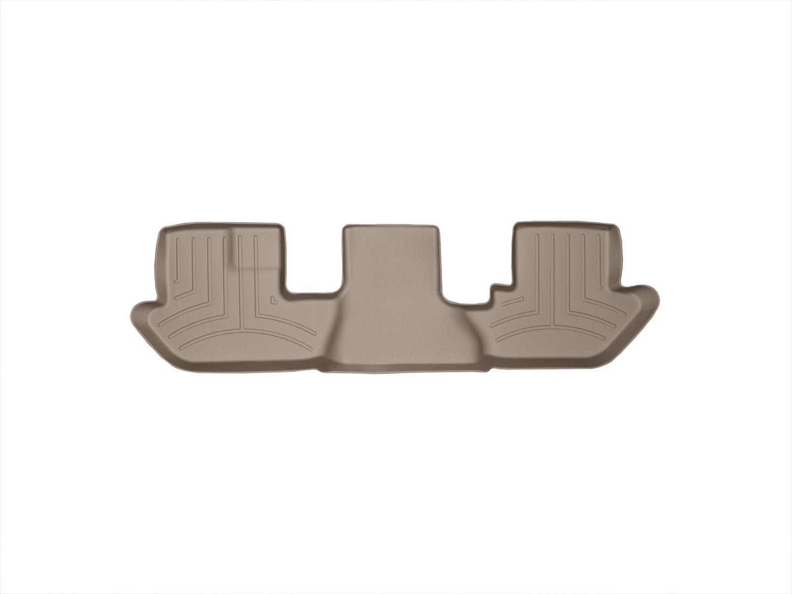Tappeti gomma su misura bordo alto Cadillac Escalade ESV 03>06 Marrone A37*
