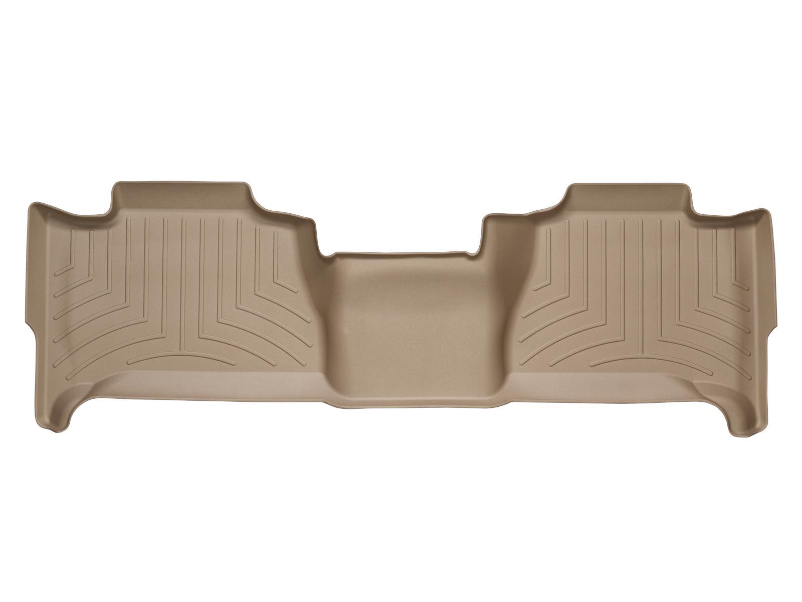 Tappeti gomma su misura bordo alto Cadillac Escalade 07>13 Marrone A18*